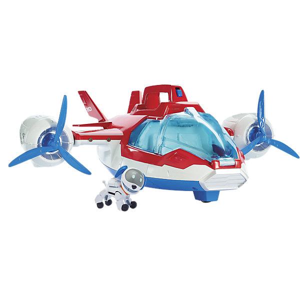 Самолет спасателей, Щенячий патрульИгровые наборы с фигурками<br>Характеристики товара:<br><br>- цвет: разноцветный;<br>- материал: пластик; <br>- габариты упаковки: 34х20х7 см;<br>- вес: 600 г;<br>- комплектация: самолет со вращающимися турбинами, значок спасателя, фигурка Робопеса;<br>- возраст: 3+.<br><br>Большинство детей хотят игрушки–миниатюры героев любимых мультиков. Новая модель представляет персонажей из фильма «Щенячий патруль». В наборе есть главная игрушка – самолет со вращающимися турбинами и желтыми пропеллерами, значок смелого спасателя для малыша и моделька Робопеса. С такой игрушкой малыш себя почувствует настоящим космическим спасателем! Материалы, использованные при изготовлении изделия, абсолютно безопасны и полностью отвечают международным требованиям по качеству детских товаров.<br><br>Игрушку «Самолет спасателей, Щенячий патруль» можно купить в нашем интернет-магазине.<br><br>Ширина мм: 413<br>Глубина мм: 370<br>Высота мм: 162<br>Вес г: 1349<br>Возраст от месяцев: 36<br>Возраст до месяцев: 72<br>Пол: Унисекс<br>Возраст: Детский<br>SKU: 4593704