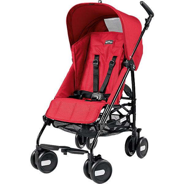 Коляска-трость Peg-Perego Pliko Mini с бампером, Mod RedКоляски-трости более 7 кг.<br>Коляска-трость Pliko Mini, Peg-Perego - компактная прогулочная коляска с небольшими габаритами, которая отвечает всем требованиям комфорта и безопасности малыша. Очень практична для использования в любой ситуации. Коляска оснащена удобным для ребенка сиденьем с мягкими 5- точечными ремнями безопасности.Спинка легко раскладывается в 3 положениях вплоть до горизонтального. Опора для ножек регулируется, что обеспечивает<br>малышу правильную осанку. Большой капюшон со смотровым окном защитит от солнца и дождя.  <br><br>Для родителей предусмотрены удобные ручки и вместительная корзина для принадлежностей малыша. Коляска оснащена 4 двойными колесами (передние - поворотные с возможностью фиксации, задние - с тормозом). Благодаря узкой колесной базе коляска без труда преодолевает<br>даже самые узкие проемы дверей, лифтов и турникетов. Легко и компактно складывается тростью, что позволяет использовать ее во время поездок и путешествий. Обивку можно снимать и стирать. Подходит для детей от 6 мес. до 3 лет.<br><br><br>Особенности:<br><br>- удобна для транспортировки и хранения;<br>- объемный капюшон от солнца и дождя;<br>- спинка сиденья регулируется 3 положениях;<br>- регулируемая подножка; <br>- корзина для вещей ребенка;<br>- передние поворотные колеса с возможностью фиксации;<br>- узкая колесная база;<br>- легко и компактно складывается тростью.<br><br><br>Дополнительная информация:<br><br>- Цвет: красный.<br>- Материал: текстиль, металл, пластик.<br>- Диаметр колес: 14,6 см.<br>- Максимальная длина спального места: 87 см.<br>- Размер в разложенном виде: 84 х 50 х 101 см.<br>- Размер в сложенном виде: 34 х 32 х 94 см.<br>- Вес: 5,7 кг.<br><br>Коляску-трость Pliko Mini + бампер передний, Peg-Perego, Mod Red красный, можно купить в нашем интернет-магазине.<br><br>Ширина мм: 995<br>Глубина мм: 285<br>Высота мм: 280<br>Вес г: 7240<br>Цвет: красный<br>Возраст от месяцев: 6<br>Возраст до месяце