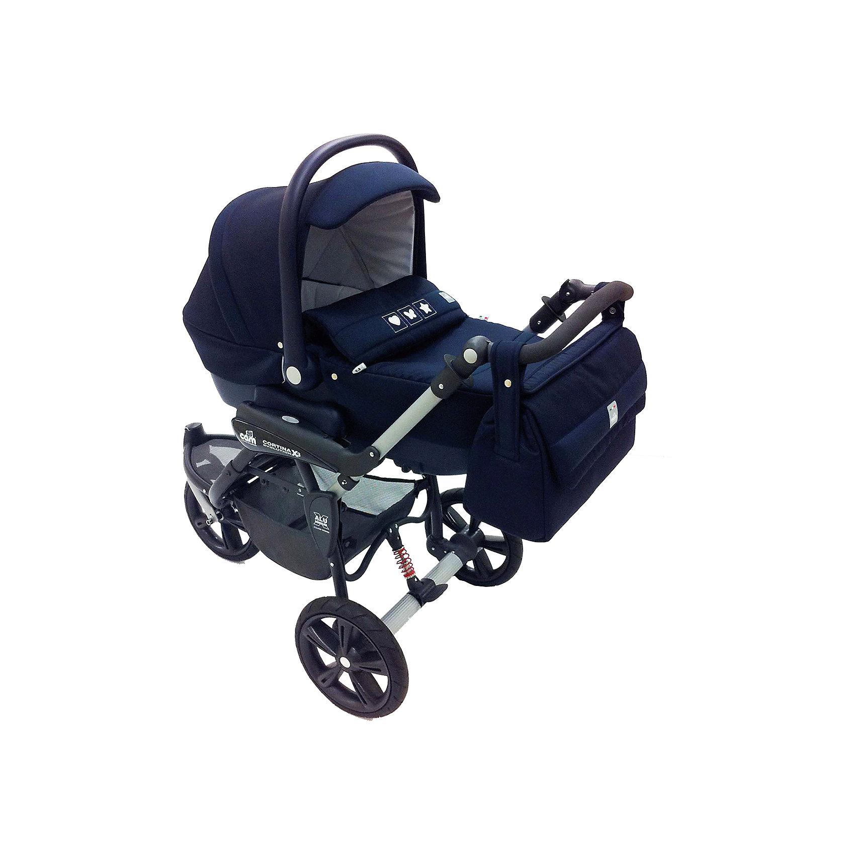 CAM Коляска 3-в-1 Cortina Basic Ex, CAM, коляска 3 в 1 cam cortina x3 tris evolution цвет 638