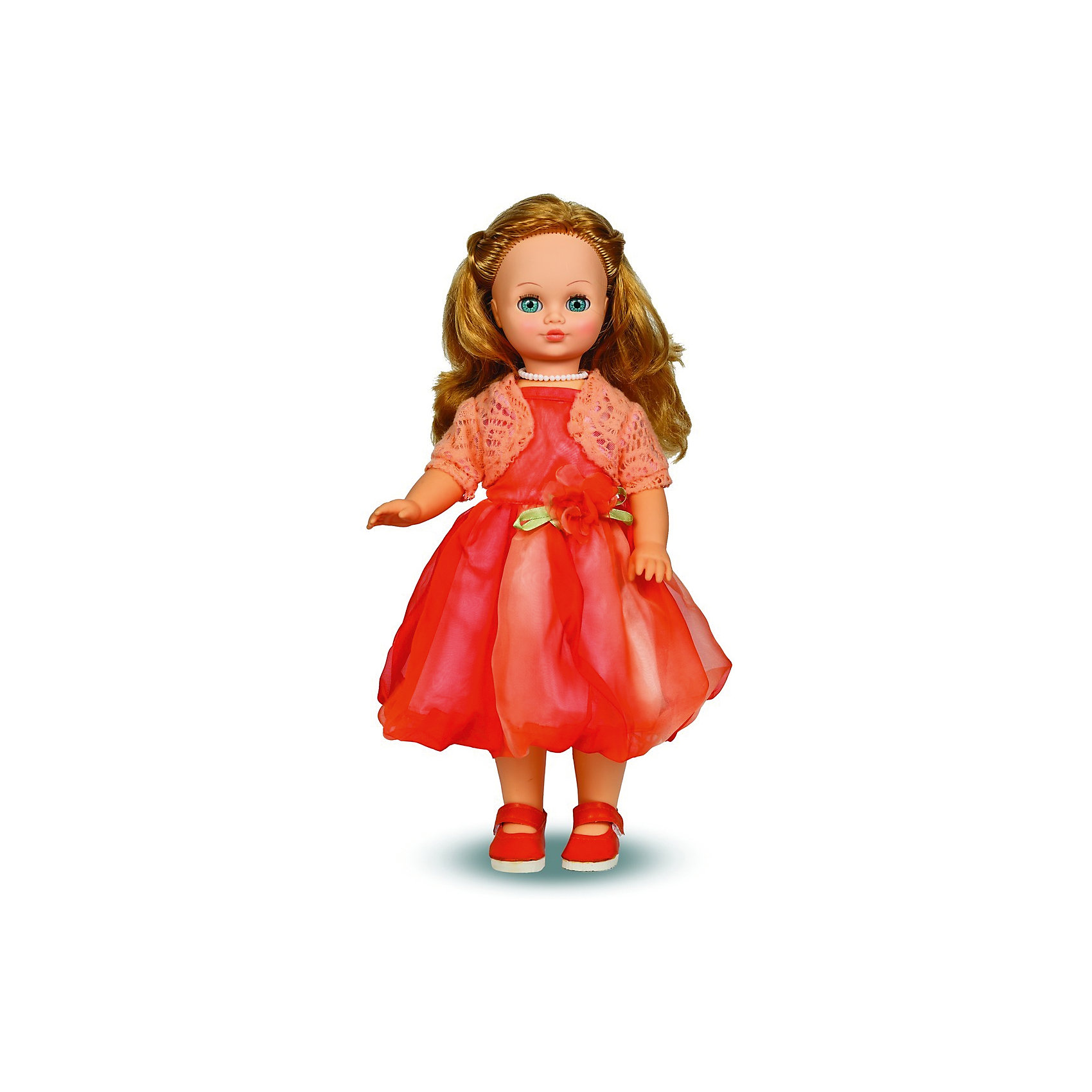 Весна Кукла Лиза, со звуком,  42 см, Весна кукла весна инна в куртке со звуком 43 см