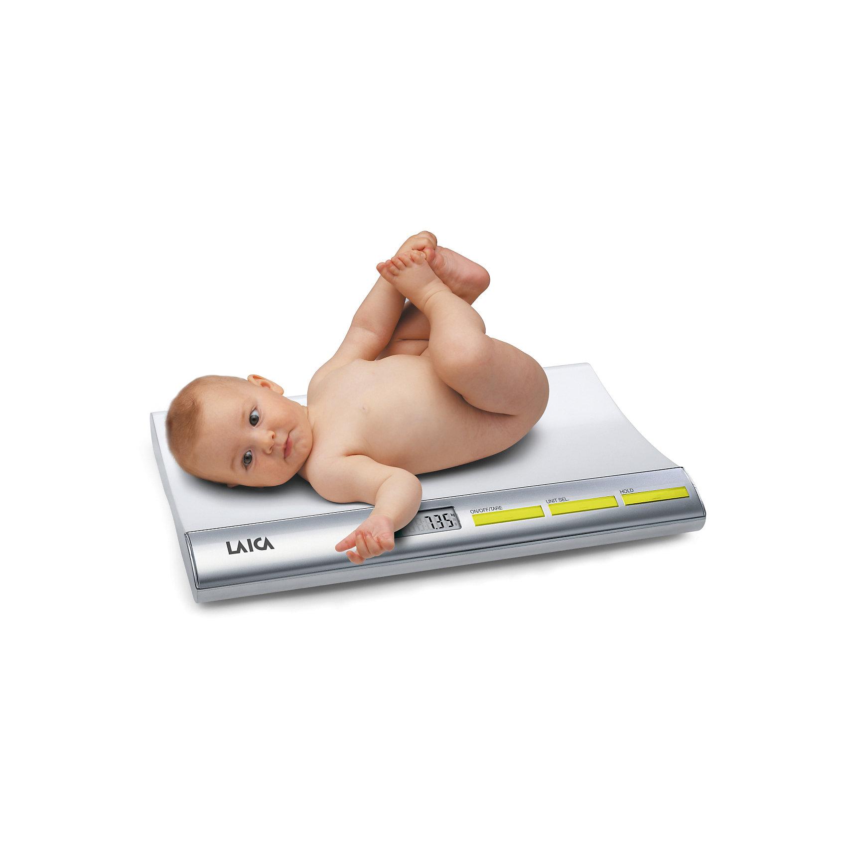 Весы PS 3001 LAICAДетская бытовая техника<br>Каждой маме хочется знать, насколько поправился ее малыш, сколько он прибавляет в неделю или месяц. Отслеживая изменения веса ребенка можно сделать выводы о его общем состоянии, отследить сколько питания усвоилось после кормления и просто порадоваться за своего крепыша.  Детские весы LAICA обладают функцией TARE, которая позволяет вам взвешивать ребенка, не учитывая вес пеленки, на которой лежит малыш. И функцией WEIGHT-BLOCK, которая показывает точный вес ребенка, даже если  малыш лежит неспокойно. Весы LAICA - прекрасный вариант для мам и малышей!<br><br>Дополнительная информация:<br><br>- Материал: пластик, металл.<br>- Размер: 51х31х6 см.<br>- Дискретность измерения:  5 гр.<br>- Максимальный вес ребенка: 20 кг. <br>- Функция «Tare».<br>- Функция «Weight-Block». <br>- Фиксация значения веса.  <br>- Автоотключение.<br>- Вес: 2,8 кг.<br>- Элемент питания:  4 батарейки AAA LR03 (не входит в комплект).<br> <br>Весы PS 3001 LAICA  можно купить в нашем магазине.<br><br>Ширина мм: 90<br>Глубина мм: 550<br>Высота мм: 360<br>Вес г: 2200<br>Возраст от месяцев: 0<br>Возраст до месяцев: 36<br>Пол: Унисекс<br>Возраст: Детский<br>SKU: 4595152