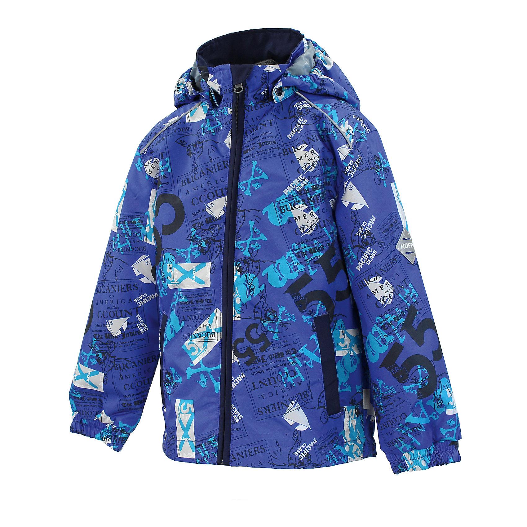 Куртка для мальчика HuppaHuppaTherm 40 грамм<br>Высокотехнологичный лёгкий синтетический утеплитель нового поколения, сохраняет объём и высокую теплоизоляцию изделия, а также легко стирается и быстро сохнет.<br><br>Влагоустойчивая и дышащая ткань 10 000/ 10 000<br>Мембрана препятствует прохождению воды и ветра сквозь ткань внутрь изделия, позволяя испаряться выделяемой телом, образовывающейся внутри влаге.<br><br>Прочная ткань<br>Сплетения волокон в тканях выполнены по специальной технологии, которая придаёт ткани прочность и предохранят от истирания.<br><br>Светоотражательные детали<br>При плохих погодных условиях или в темноте, когда свет падает на одежду, он отражается, делая ребёнка более заметным, уменьшая возможность несчастных случаев.<br><br>Дополнительная информация:<br><br>Температурный режим: от 0 до +10 С<br>Ткань: 100% полиэстер<br>Подкладка: тафта - 100% полиэстер<br>Утеплитель: 100% полиэстер 40г.<br><br>Куртку для мальчика Huppa можно купить в нашем магазине.<br><br>Ширина мм: 356<br>Глубина мм: 10<br>Высота мм: 245<br>Вес г: 519<br>Цвет: синий<br>Возраст от месяцев: 36<br>Возраст до месяцев: 48<br>Пол: Мужской<br>Возраст: Детский<br>Размер: 104,116,134,98,92,128,122,110<br>SKU: 4595304