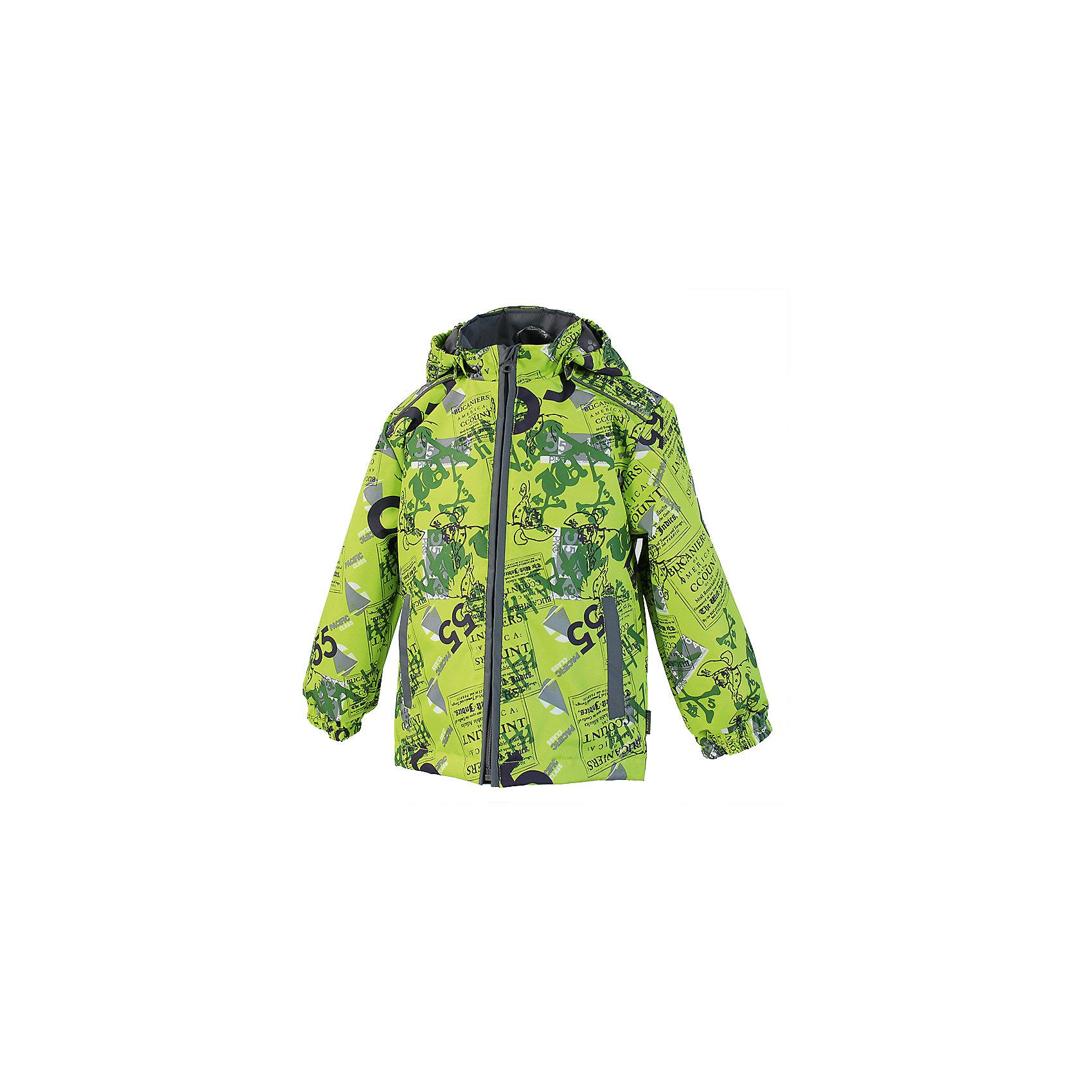 Куртка для мальчика HuppaHuppaTherm 40 грамм<br>Высокотехнологичный лёгкий синтетический утеплитель нового поколения, сохраняет объём и высокую теплоизоляцию изделия, а также легко стирается и быстро сохнет.<br><br>Влагоустойчивая и дышащая ткань 10 000/ 10 000<br>Мембрана препятствует прохождению воды и ветра сквозь ткань внутрь изделия, позволяя испаряться выделяемой телом, образовывающейся внутри влаге.<br><br>Прочная ткань<br>Сплетения волокон в тканях выполнены по специальной технологии, которая придаёт ткани прочность и предохранят от истирания.<br><br>Светоотражательные детали<br>При плохих погодных условиях или в темноте, когда свет падает на одежду, он отражается, делая ребёнка более заметным, уменьшая возможность несчастных случаев.<br><br>Дополнительная информация:<br><br>Температурный режим: от 0 до +10 С<br>Ткань: 100% полиэстер<br>Подкладка: тафта - 100% полиэстер<br>Утеплитель: 100% полиэстер 40г.<br><br>Куртку для мальчика Huppa можно купить в нашем магазине.<br><br>Ширина мм: 356<br>Глубина мм: 10<br>Высота мм: 245<br>Вес г: 519<br>Цвет: желтый<br>Возраст от месяцев: 48<br>Возраст до месяцев: 60<br>Пол: Мужской<br>Возраст: Детский<br>Размер: 110,116,104,122,134,92,98,128<br>SKU: 4595313