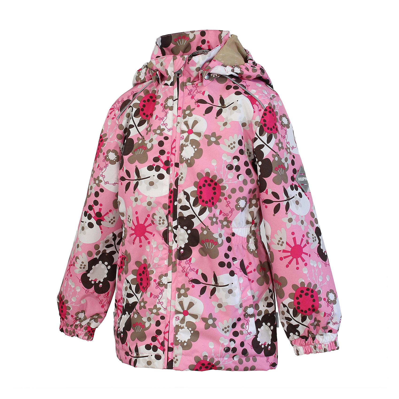 Куртка для девочки HuppaВлагоустойчивая и дышащая ткань 5000/ 5000<br>Мембрана препятствует прохождению воды и ветра сквозь ткань внутрь изделия, позволяя испаряться выделяемой телом, образовывающейся внутри влаге.<br><br>Светоотражательные детали<br>При плохих погодных условиях или в темноте, когда свет падает на одежду, он отражается, делая ребёнка более заметным, уменьшая возможность несчастных случаев.<br><br>Дополнительная информация:<br><br><br>Куртка для девочек<br>Ткань: 100% полиэстер<br>Подкладка: тафта - 100% полиэстер<br><br>Куртку для девочки Huppa можно купить в нашем магазине.<br><br>Ширина мм: 356<br>Глубина мм: 10<br>Высота мм: 245<br>Вес г: 519<br>Цвет: розовый<br>Возраст от месяцев: 24<br>Возраст до месяцев: 36<br>Пол: Женский<br>Возраст: Детский<br>Размер: 92,110,98,128,104,116,122,134<br>SKU: 4595370