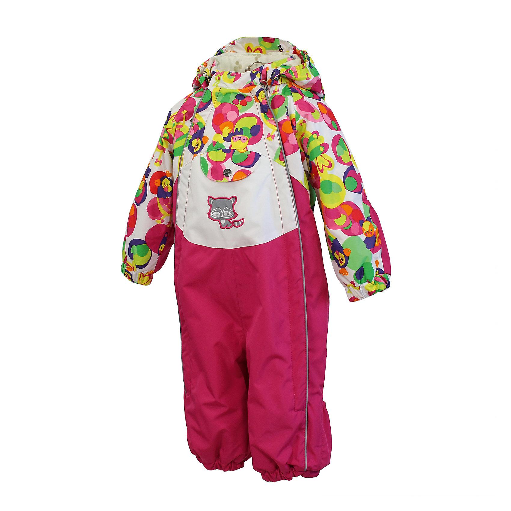 Комбинезон для девочки HuppaВерхняя одежда<br>HuppaTherm 40 грамм<br>Высокотехнологичный лёгкий синтетический утеплитель нового поколения, сохраняет объём и высокую теплоизоляцию изделия, а также легко стирается и быстро сохнет.<br><br>Влагоустойчивая и дышащая ткань 10 000/ 10 000<br>Мембрана препятствует прохождению воды и ветра сквозь ткань внутрь изделия, позволяя испаряться выделяемой телом, образовывающейся внутри влаге.<br><br>Влагоустойчивая и дышащая ткань 5000/ 5000<br>Мембрана препятствует прохождению воды и ветра сквозь ткань внутрь изделия, позволяя испаряться выделяемой телом, образовывающейся внутри влаге.<br><br>Проклеенные швы<br>Для максимальной влагонепроницаемости изделия, важнейшие швы проклеены водостойкой лентой.<br><br>Прочная ткань<br>Сплетения волокон в тканях выполнены по специальной технологии, которая придаёт ткани прочность и предохранят от истирания.<br><br>Светоотражательные детали<br>При плохих погодных условиях или в темноте, когда свет падает на одежду, он отражается, делая ребёнка более заметным, уменьшая возможность несчастных случаев.<br><br>Дополнительная информация:<br><br>Температурный режим: от 0 до +10 С<br>Комбинезон с двумя молниями<br>Ткань: 100% полиэстер<br>Подкладка: фланель - 100% хлопок<br>Утеплитель: 100% полиэстер 40г.<br>Шаговый шов, боковые швы проклеены<br>Манжеты с отворотом у размеров 68-80<br><br>Комбинезон для девочки Huppa можно купить в нашем магазине.<br><br>Ширина мм: 356<br>Глубина мм: 10<br>Высота мм: 245<br>Вес г: 519<br>Цвет: розовый<br>Возраст от месяцев: 12<br>Возраст до месяцев: 18<br>Пол: Женский<br>Возраст: Детский<br>Размер: 74,98,86,80,92<br>SKU: 4595530