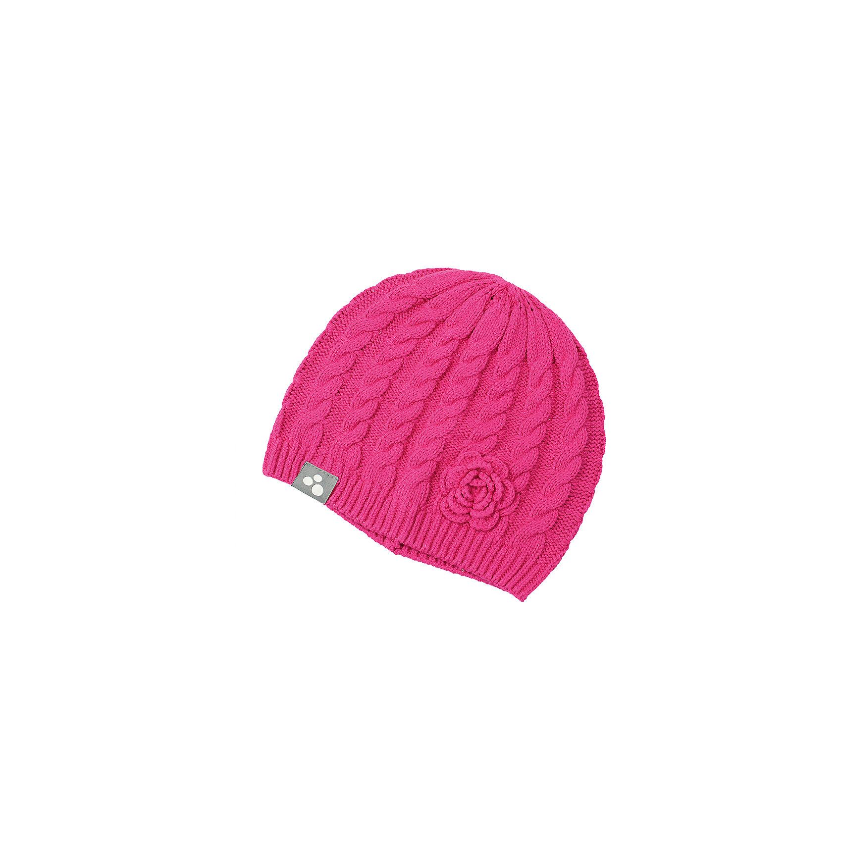 Huppa Шапка для девочки Huppa купить шапку ушанку ленне киев