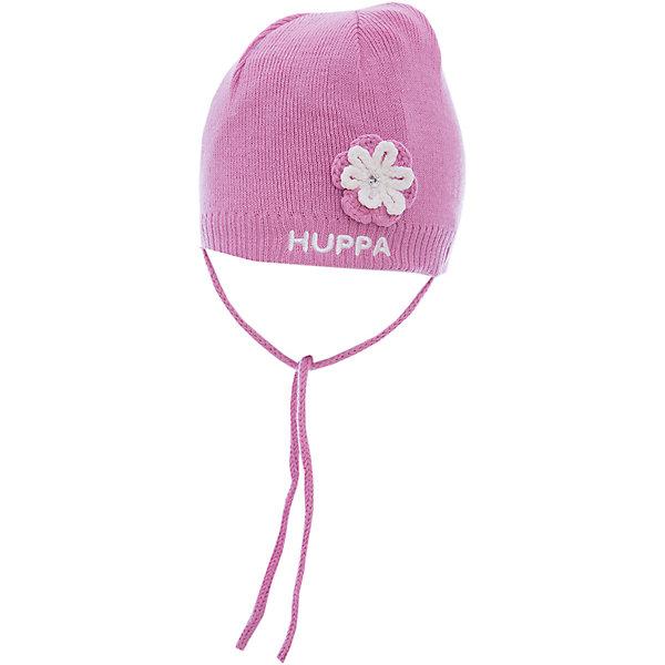 Шапка Huppa Betty для девочкиШапочки<br>Характеристики товара:<br><br>• модель: Betty;<br>• цвет: розовый;<br>• состав: 50% хлопок, 50% акрил;<br>• подкладка: 100% хлопок;<br>• температурный режим: от 0°С до +10°С;<br>• сезон: демисезон;<br>• особенности: вязаная;<br>• шапка на завязках;<br>• декорирована вязаным цветком;<br>• светоотражающий элемент;<br>• страна бренда: Эстония;<br>• страна изготовитель: Эстония.<br><br>Демисезонная вязаная шапка. Шапка с мягкой хлопковой подкладкой и мягкой резинкой, которая не давит. Шапка на завязках декорирована вязаным цветочком. Дополнена светоотражающим элементом.<br><br>Шапку Betty от бренда Huppa (Хуппа) можно купить в нашем интернет-магазине.<br>Ширина мм: 89; Глубина мм: 117; Высота мм: 44; Вес г: 155; Цвет: розовый; Возраст от месяцев: 9; Возраст до месяцев: 12; Пол: Женский; Возраст: Детский; Размер: 43-45,39-43,51-53,47-49; SKU: 4595775;
