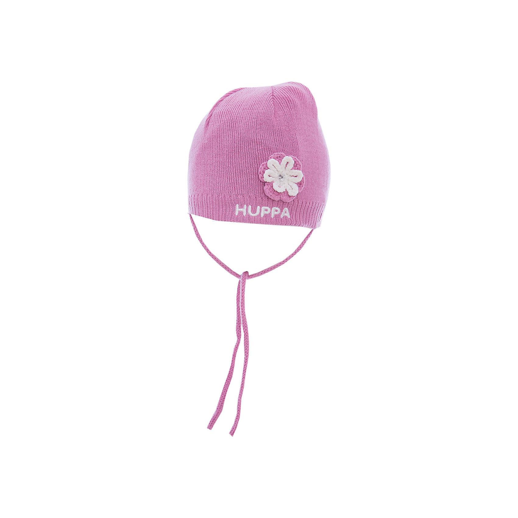 Huppa Шапка для девочки Huppa color kids демисезонная для девочки flandern розовая