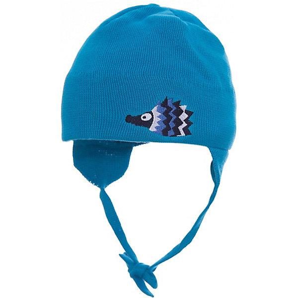 Шапка Huppa Doody для мальчикаШапочки<br>Характеристики товара:<br><br>• модель: Doody;<br>• цвет: голубой;<br>• состав: 100% хлопок;<br>• температурный режим: от 0°С до +10°С;<br>• сезон: демисезон;<br>• особенности: вязаная;<br>• шапка на завязках;<br>• декорирована аппликацией;<br>• светоотражающий элемент;<br>• страна бренда: Эстония;<br>• страна изготовитель: Эстония.<br><br>Демисезонная вязаная шапка. Шапка с мягкой резинкой, которая не давит. Шапка на завязках декорирована аппликацией спереди. Дополнена светоотражающим элементом.<br><br>Шапку Doody от бренда Huppa (Хуппа) можно купить в нашем интернет-магазине.<br><br>Ширина мм: 89<br>Глубина мм: 117<br>Высота мм: 44<br>Вес г: 155<br>Цвет: голубой<br>Возраст от месяцев: 0<br>Возраст до месяцев: 6<br>Пол: Мужской<br>Возраст: Детский<br>Размер: 39-43,43-45,51-53,47-49<br>SKU: 4595805