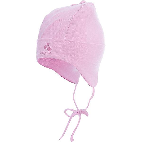 Шапка Huppa Sunny для девочкиШапочки<br>Характеристики товара:<br><br>• модель: Doody;<br>• цвет: розовый;<br>• состав: 95% хлопок, 5% эластан;<br>• температурный режим: от 0°С до +10°С;<br>• сезон: демисезон;<br>• особенности: вязаная;<br>• шапка на завязках;<br>• светоотражающий элемент;<br>• страна бренда: Эстония;<br>• страна изготовитель: Эстония.<br><br>Демисезонная вязаная шапка. Шапка с мягкой резинкой, которая не давит. Шапка на завязках дополнена светоотражающим элементом.<br><br>Шапку Doody от бренда Huppa (Хуппа) можно купить в нашем интернет-магазине.<br>Ширина мм: 89; Глубина мм: 117; Высота мм: 44; Вес г: 155; Цвет: розовый; Возраст от месяцев: 9; Возраст до месяцев: 12; Пол: Женский; Возраст: Детский; Размер: 43-45,47-49,39-43; SKU: 4595870;