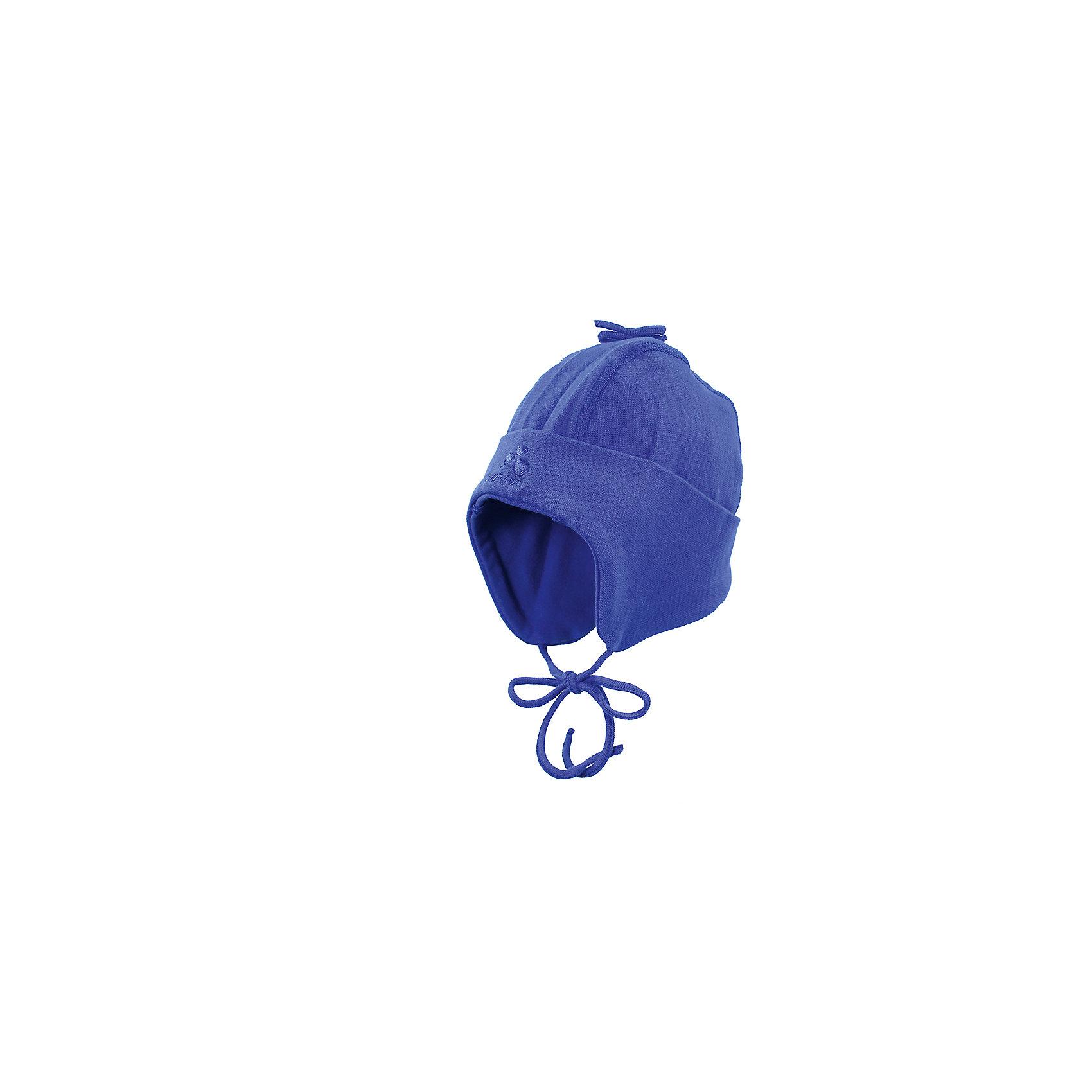 Шапка для мальчика HuppaШапочки<br>Дополнительная информация:<br><br><br>Ткань: 95% хлопок, 5% эластан<br><br>Шапку для мальчика Huppa можно купить в нашем магазине.<br><br>Ширина мм: 89<br>Глубина мм: 117<br>Высота мм: 44<br>Вес г: 155<br>Цвет: голубой<br>Возраст от месяцев: 12<br>Возраст до месяцев: 24<br>Пол: Мужской<br>Возраст: Детский<br>Размер: 47-49,39-43,43-45<br>SKU: 4595874