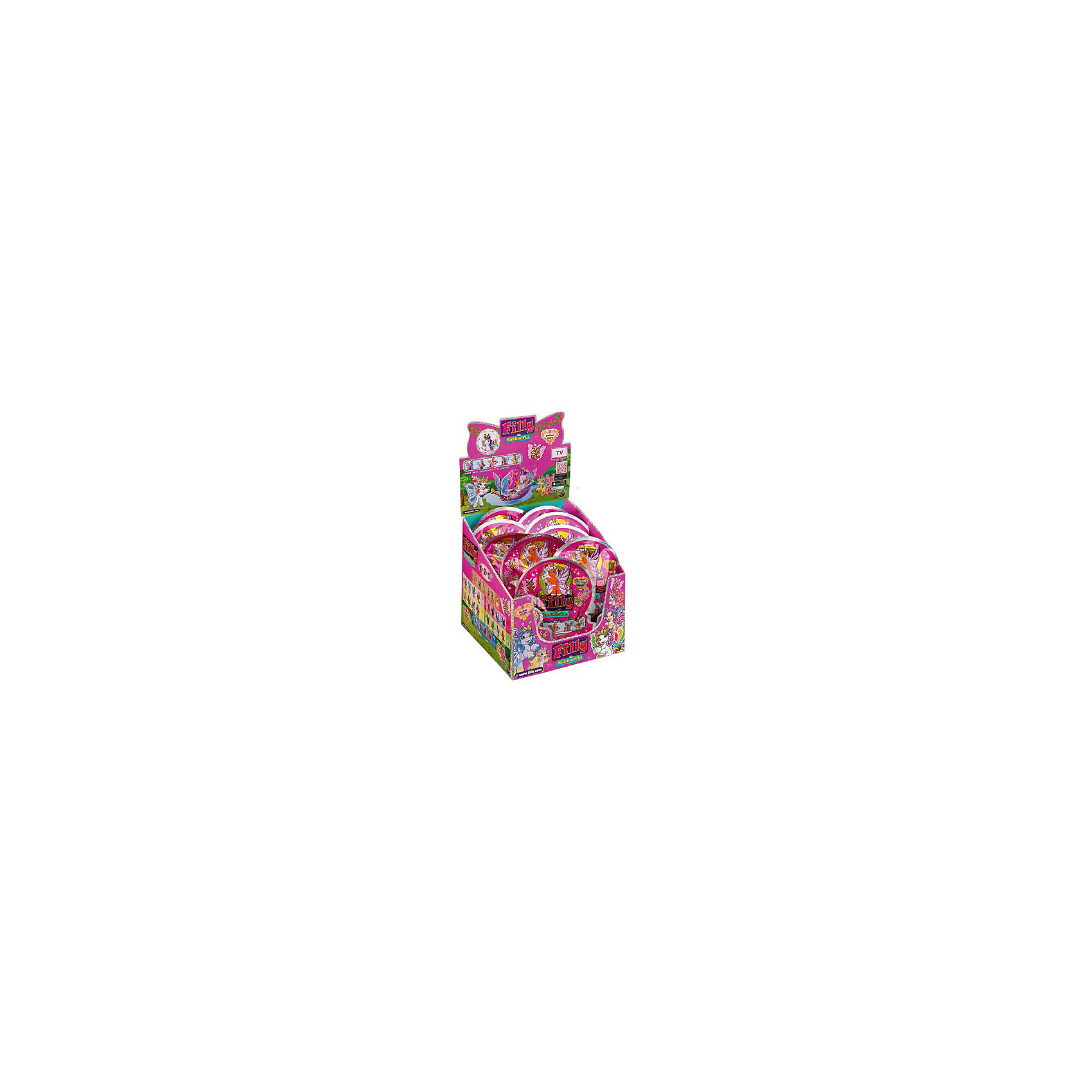Лошадка коллекционная Бабочки, Filly, DraccoКоллекционные и игровые фигурки<br>Лошадки-бабочки Filly (Филли) живут в сказочном саду внутри волшебного леса Папиллия. Аккуратные, бархатистые на ощупь фигурки приведут в восторг любую девочку и займут достойное место в ее коллекции лошадок. <br>В ассортименте 26 уникальных персонажей, которые отличаются цветом крылышек и гривы, аксессуарами, а также принадлежностью к одному из семейных гербов. В коллекции вы найдете пять фигурок из секретного семейства, а также представителей семейства Воды, Цветочного и Солнечного семейства, семейства Листьев, Сердец, пурпурных бабочек и удивительную фигурку принцессы Скарлетт, у которой радужные крылья и пять кристаллов Swarovski в короне. <br>Игрушки выполнены из высококачественных экологичных материалов безопасных для детей. <br><br>Дополнительная информация:<br><br>- Материал: пластик.<br>- Высота фигурки: 5 см.<br>- Фигурки покрыты бархатистым флоком. <br>- Комплектация: фигурка, карточка, буклет с описанием других лошадок. <br>- Фигурки в ассортименте.<br>ВНИМАНИЕ! Данный артикул представлен в разных вариантах исполнения. К сожалению, заранее выбрать определенный вариант невозможно. При заказе нескольких фигурок возможно получение одинаковых.<br><br>Коллекционную лошадку Бабочки, Filly, Dracco, можно купить в нашем магазине.<br><br>Ширина мм: 132<br>Глубина мм: 35<br>Высота мм: 170<br>Вес г: 310<br>Возраст от месяцев: 36<br>Возраст до месяцев: 96<br>Пол: Женский<br>Возраст: Детский<br>SKU: 4596124