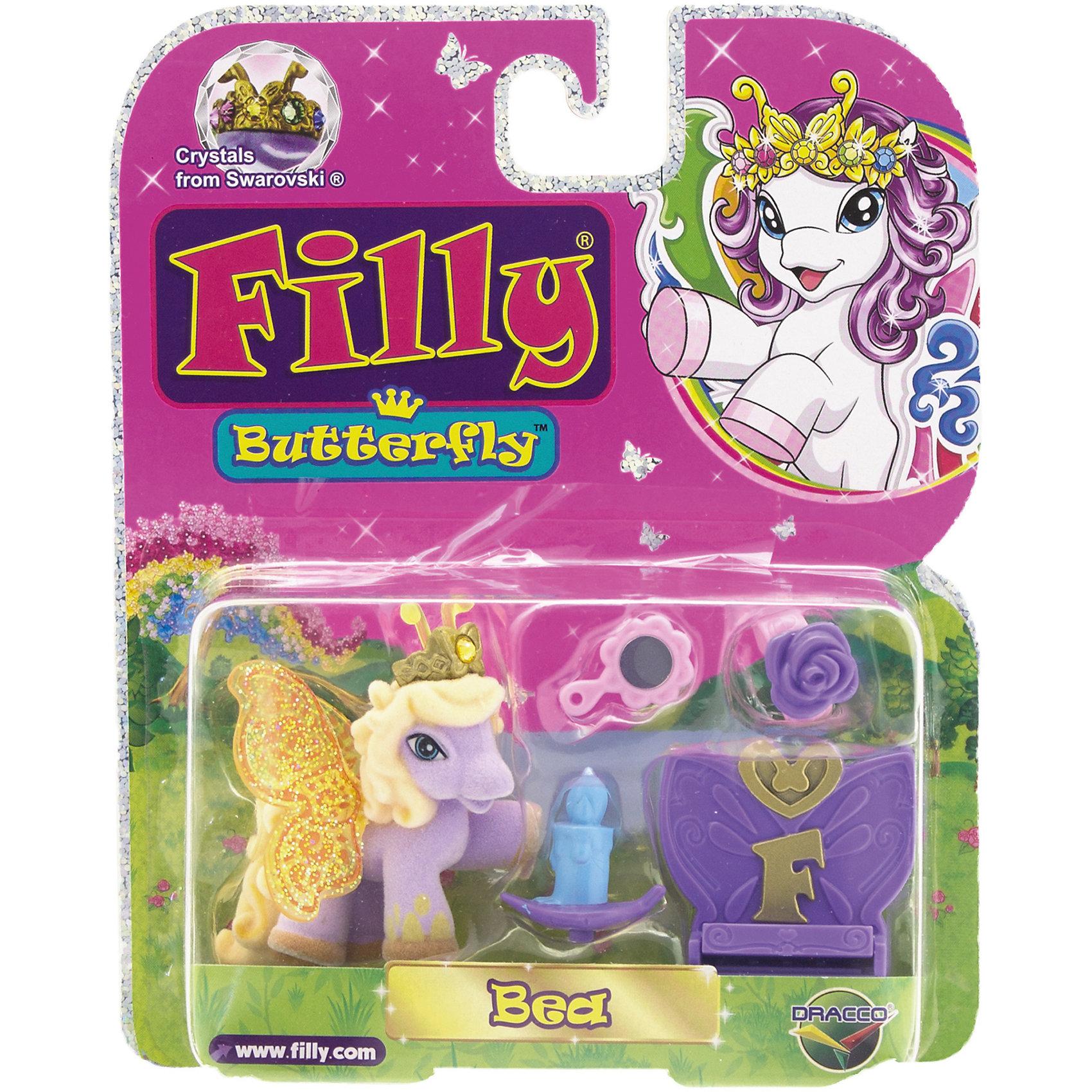 Бабочка с аксессуарами Bea, Filly, Dracco
