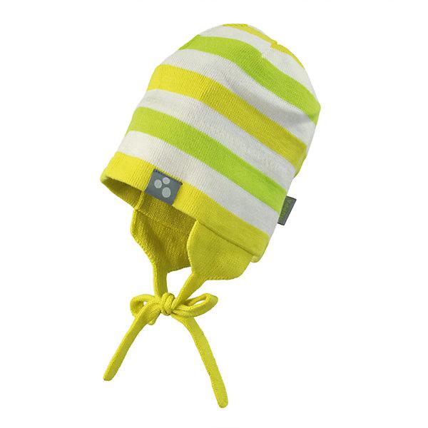 Шапка Huppa Cairo для девочкиГоловные уборы<br>Характеристики товара:<br><br>• модель: Cairo;<br>• цвет: желтый;<br>• состав: 50% хлопок, 50% акрил;<br>• температурный режим: от 0°С до +10°С;<br>• сезон: демисезон;<br>• особенности: вязаная, в полоску;<br>• шапка на завязках;<br>• светоотражающий элемент;<br>• страна бренда: Эстония;<br>• страна изготовитель: Эстония.<br><br>Демисезонная вязаная шапка. Шапка с мягкой резинкой, которая не давит. Шапка на завязках дополнена светоотражающим элементом. Чуть удлиненные ушки для защиты от ветра. <br><br>Шапку Cairo от бренда Huppa (Хуппа) можно купить в нашем интернет-магазине.<br>Ширина мм: 89; Глубина мм: 117; Высота мм: 44; Вес г: 155; Цвет: желтый; Возраст от месяцев: 9; Возраст до месяцев: 12; Пол: Женский; Возраст: Детский; Размер: 43-45,47-49,55-57,51-53; SKU: 4598996;
