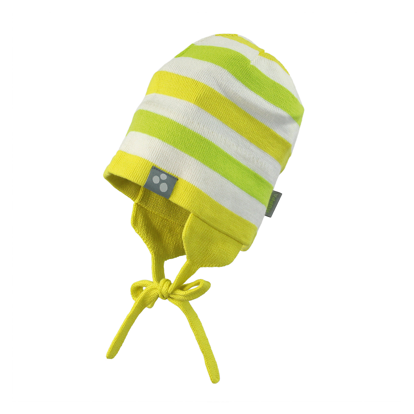 шапка для девочки HuppaЯркая вязаная шапочка на завязках надежно защищает от холодного ветра - прекрасный вариант для прогулок ранней весной и осенью.<br><br>Дополнительная информация:<br><br>Температурный режим - от 0С до +10С<br>Состав: 50% хлопок + 50% акрил.<br><br>Шапку для девочки Huppa можно купить в нашем магазине.<br><br>Ширина мм: 89<br>Глубина мм: 117<br>Высота мм: 44<br>Вес г: 155<br>Цвет: желтый<br>Возраст от месяцев: 12<br>Возраст до месяцев: 24<br>Пол: Женский<br>Возраст: Детский<br>Размер: 47-49,55-57,51-53,43-45<br>SKU: 4598996