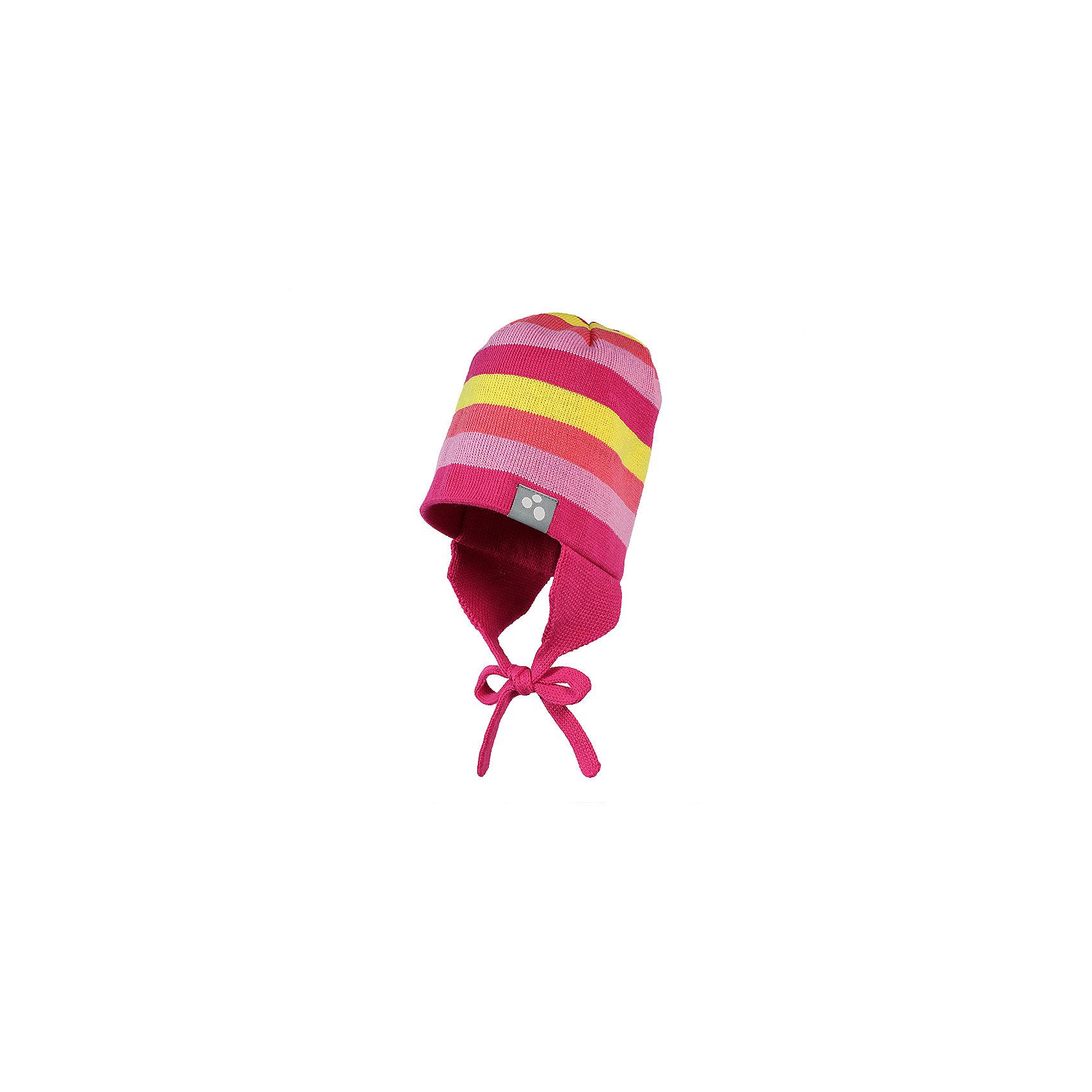 Шапка для девочки HuppaЯркая вязаная шапочка на завязках надежно защищает от холодного ветра - прекрасный вариант для прогулок ранней весной и осенью.<br><br>Дополнительная информация:<br><br>Температурный режим - от 0С до +10С<br>Состав: 50% хлопок + 50% акрил.<br><br>Шапку для девочки Huppa можно купить в нашем магазине.<br><br>Ширина мм: 89<br>Глубина мм: 117<br>Высота мм: 44<br>Вес г: 155<br>Цвет: розовый<br>Возраст от месяцев: 12<br>Возраст до месяцев: 24<br>Пол: Женский<br>Возраст: Детский<br>Размер: 55-57,51-53,47-49,43-45<br>SKU: 4599001