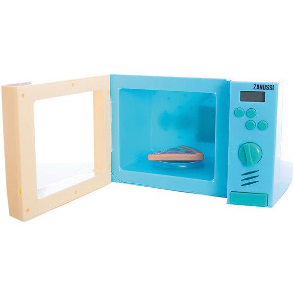Микроволновая печь, HTIИгрушечная бытовая техника<br>Эта замечательная микроволновая печь выглядит как настоящая. Теперь ваша юная хозяйка без труда сможет разогреть обед для своих любимых кукол! Микроволновка снабжена четырьмя кнопками для приготовления блюд, поворачивающейся ручкой, а также большой кнопкой для открывания дверцы. Внутри находится круглая подставка для еды. При нажатии на кнопки или поворачивании ручки в печи включится голубой свет, подставка начнет вращаться, при этом будут слышны характерные звуки работы печи. Игрушка выполнена из высококачественных нетоксичных материалов безопасных для детей. Прекрасный подарок для юных поварят! <br><br>Дополнительная информация:<br><br>- Материал: пластик, металл.<br>- Размер: 27,5х18х15,5 см.<br>- Звуковые, световые эффекты.<br>- Подставка вращается.<br>- После завершения работы слышится звуковой сигнал. <br>- Элемент питания: 3 АА батарейки (не входят в комплект).<br><br>Микроволновую печь, HTI, можно купить в нашем магазине.<br>Ширина мм: 275; Глубина мм: 155; Высота мм: 180; Вес г: 1000; Возраст от месяцев: 36; Возраст до месяцев: 168; Пол: Женский; Возраст: Детский; SKU: 4600416;