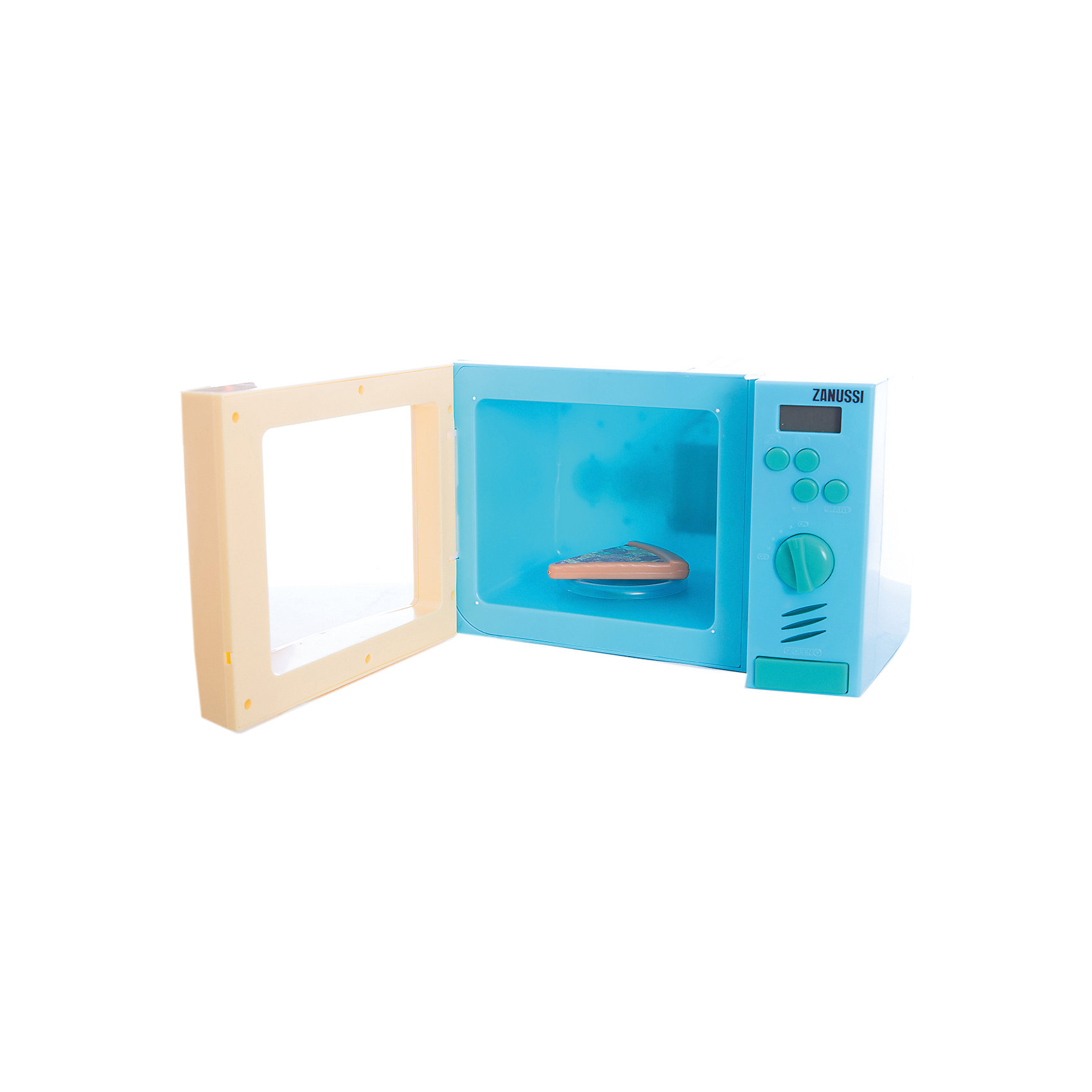 Микроволновая печь, HTIИгрушечная бытовая техника<br>Эта замечательная микроволновая печь выглядит как настоящая. Теперь ваша юная хозяйка без труда сможет разогреть обед для своих любимых кукол! Микроволновка снабжена четырьмя кнопками для приготовления блюд, поворачивающейся ручкой, а также большой кнопкой для открывания дверцы. Внутри находится круглая подставка для еды. При нажатии на кнопки или поворачивании ручки в печи включится голубой свет, подставка начнет вращаться, при этом будут слышны характерные звуки работы печи. Игрушка выполнена из высококачественных нетоксичных материалов безопасных для детей. Прекрасный подарок для юных поварят! <br><br>Дополнительная информация:<br><br>- Материал: пластик, металл.<br>- Размер: 27,5х18х15,5 см.<br>- Звуковые, световые эффекты.<br>- Подставка вращается.<br>- После завершения работы слышится звуковой сигнал. <br>- Элемент питания: 3 АА батарейки (не входят в комплект).<br><br>Микроволновую печь, HTI, можно купить в нашем магазине.<br><br>Ширина мм: 275<br>Глубина мм: 155<br>Высота мм: 180<br>Вес г: 1000<br>Возраст от месяцев: 36<br>Возраст до месяцев: 168<br>Пол: Женский<br>Возраст: Детский<br>SKU: 4600416