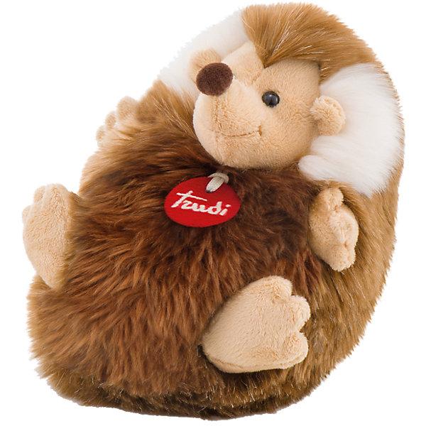 Ежик-пушистик, 24 см, TrudiМягкие игрушки животные<br>Милый ежик-пушистик, Trudi станет прекрасным подарком малышу. Ежик совсем не колючий, он любит улыбаться и легко позволит погладить себя по спинке и животику. Игрушка выполнена из безопасных материалов и отлично подойдет для самых маленьких детей.<br><br>Дополнительная информация:<br>Материал: плюш<br>Размер: 24 см<br>Цвет: коричневый<br><br>Ежика-пушистика, Trudi вы можете приобрести в нашем интернет-магазине.<br><br>Ширина мм: 201<br>Глубина мм: 192<br>Высота мм: 137<br>Вес г: 167<br>Возраст от месяцев: 12<br>Возраст до месяцев: 60<br>Пол: Унисекс<br>Возраст: Детский<br>SKU: 4601412