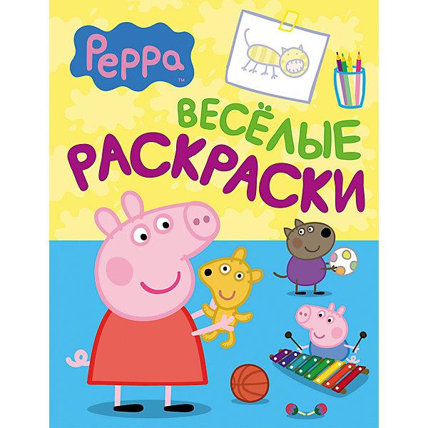Веселые раскраски Свинка Пеппа (голубая)Свинка Пеппа<br>Веселые раскраски Свинка Пеппа (голубая) - это раскраска с героями мультфильма о приключениях свинки Пеппы и специальными заданиями.<br>Добро пожаловать в веселую компанию свинки Пеппы и ее друзей! Проведи время с пользой: раскрашивай героев любимого мультсериала и отвечай на вопросы. А если тебе что-то покажется забавным, то смейся от души!<br><br>Дополнительная информация:<br><br>- Редактор: Шахова А.<br>- Издательство: Росмэн<br>- Тип обложки: мягкая<br>- Иллюстрации: черно-белые<br>- Количество страниц: 8<br>- Размер: 275 х 210 x 3 мм.<br>- Вес: 50 гр.<br><br>Книгу Веселые раскраски Свинка Пеппа (голубую) можно купить в нашем интернет-магазине.<br>Ширина мм: 275; Глубина мм: 210; Высота мм: 3; Вес г: 50; Возраст от месяцев: 12; Возраст до месяцев: 60; Пол: Унисекс; Возраст: Детский; SKU: 4602292;