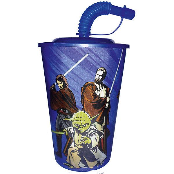 Бокал 450 мл Звёздные Войны, синийЗвездные войны Посуда<br>Синий бокал 450 мл Звёздные Войны - это отличный подарок для любого фаната знаменитой саги.<br>Бокал Звёздные Войны выполнен из полипропилена и оформлен с изображением героев саги. Бокал плотно закрывается крышкой с отверстием в центре для трубочки. Кончик гофрированной трубочки плотно закрывается, что исключает попадание пыли и грязи в содержимое стакана и предотвращает проливание жидкости. Не подходит для использования в посудомоечной машине и СВЧ-печи.<br><br>Дополнительная информация:<br><br>- Объем: 450 мл.<br>- Материал: полипропилен<br>- Цвет: синий<br>- Размер упаковки: 9х9х17 см.<br><br>Синий бокал 450 мл Звёздные Войны можно купить в нашем интернет-магазине.<br>Ширина мм: 90; Глубина мм: 90; Высота мм: 170; Вес г: 5; Возраст от месяцев: 36; Возраст до месяцев: 144; Пол: Унисекс; Возраст: Детский; SKU: 4603856;