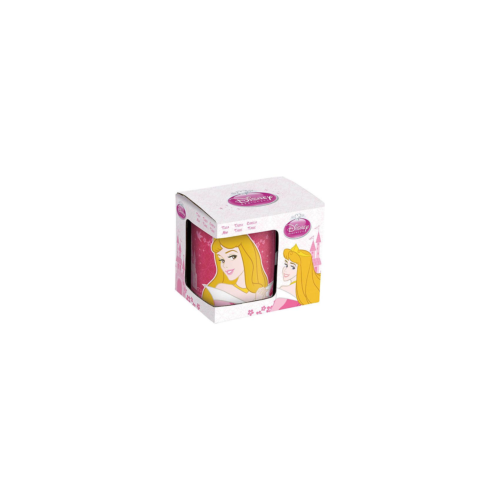 Керамическая кружка Принцессы Дисней 330 мл в подарочной упаковкеДетская посуда<br>Керамическая кружка Принцессы Дисней 330 мл в подарочной упаковке - эта оригинальная кружка станет приятным сюрпризом для Вашей девочки.<br>Яркая керамическая кружка, декорированная красочным изображением с портретом принцессы Авроры — главной героини мультфильма «Спящая красавица» - идеально подойдет для повседневного использования. Кружка выполнена из износостойкой керамики, не впитывает запахи, не выделяет вредных веществ и проста в уходе. Она пригодна для мытья в посудомоечной машине и использования в микроволновой печи. Кружка в подарочной упаковке станет приятным сюрпризом на любой праздник!<br><br>Дополнительная информация:<br><br>- Материал: керамика<br>- Объем: 330 мл.<br>- Высота: 9,5 см.<br>- Диаметр: 8 см.<br>- Упаковка: подарочная коробка<br><br>Керамическую кружку Принцессы Дисней 330 мл в подарочной упаковке можно купить в нашем интернет-магазине.<br><br>Ширина мм: 115<br>Глубина мм: 85<br>Высота мм: 100<br>Вес г: 363<br>Возраст от месяцев: 36<br>Возраст до месяцев: 144<br>Пол: Женский<br>Возраст: Детский<br>SKU: 4603866