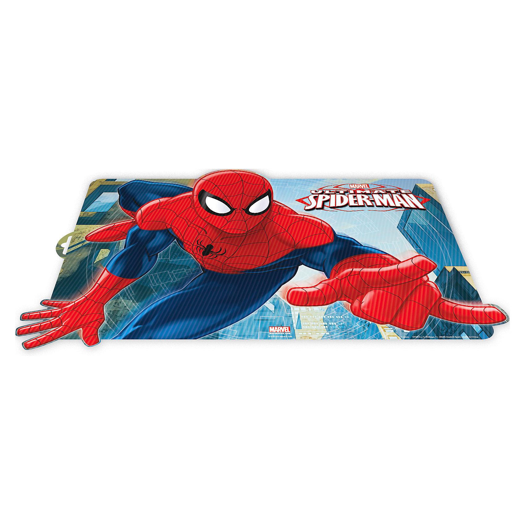 3D-салфетка Человек-Паук 44*29,5 см3D-салфетка Человек-Паук 44*29,5 см - эта салфетка не только украсит стол, но и защитит его от различных повреждений.<br>Термосалфетка под столовые приборы, оформленная 3D рисунком с изображением Человек Паука идеально впишется в интерьер любой кухни. Она будет незаменимым и полезным аксессуаром, так как защитит поверхность столешницы от воздействия высоких температур и повреждений, и уменьшит шум от посуды. Ваш стол будет украшен яркой красочной салфеткой, а оригинальный рисунок поднимет аппетит и настроение вам и вашему ребенку! Салфетка проста в уходе, легко моется и быстро сохнет. Обладает отличной износостойкостью и водонепроницаемостью.<br><br>Дополнительная информация:<br><br>- Размер: 44х29,5 см.<br>- Материал: термоустойчивый, экологически чистый полипропилен<br><br>3D-салфетку Человек-Паук 44*29,5 см можно купить в нашем интернет-магазине.<br><br>Ширина мм: 490<br>Глубина мм: 330<br>Высота мм: 50<br>Вес г: 49<br>Возраст от месяцев: 36<br>Возраст до месяцев: 144<br>Пол: Мужской<br>Возраст: Детский<br>SKU: 4603877
