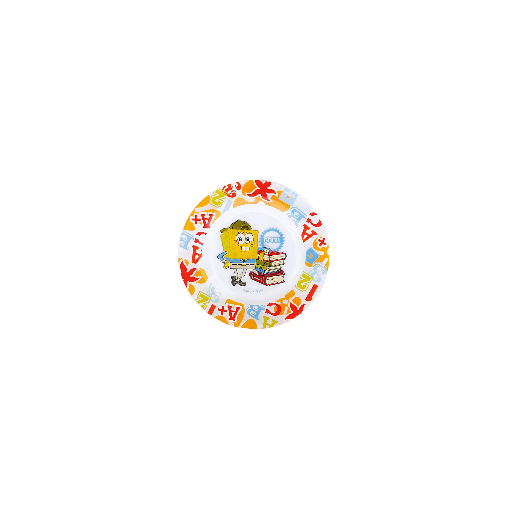 Стеклянная тарелка Школа 19,5 см, Губка БобГубка Боб<br>Стеклянная тарелка Школа 19,5 см, Губка Боб - эта яркая красочная тарелка поднимет настроение вашему ребенку.<br>Замечательная тарелка с ярким принтом, по мотивам популярного детского мультсериала Губка Боб Квадратные штаны, прекрасно подходит как для холодных, так и для теплых блюд. Тарелка выполнена из высококачественного стекла, которое производится без добавления химических красителей и примесей. Абсолютно гладкая поверхность препятствует проникновению бактерий и посторонних запахов в посуду. Изделие, украшенное веселым красочным рисунком, станет прекрасным дополнением к кухонным аксессуарам из серии Губка Боб.<br><br>Дополнительная информация:<br><br>- Диаметр: 19,5 см.<br>- Материал: стекло<br><br>Стеклянную тарелку Школа 19,5 см, Губка Боб можно купить в нашем интернет-магазине.<br><br>Ширина мм: 190<br>Глубина мм: 190<br>Высота мм: 20<br>Вес г: 240<br>Возраст от месяцев: 36<br>Возраст до месяцев: 144<br>Пол: Унисекс<br>Возраст: Детский<br>SKU: 4603883