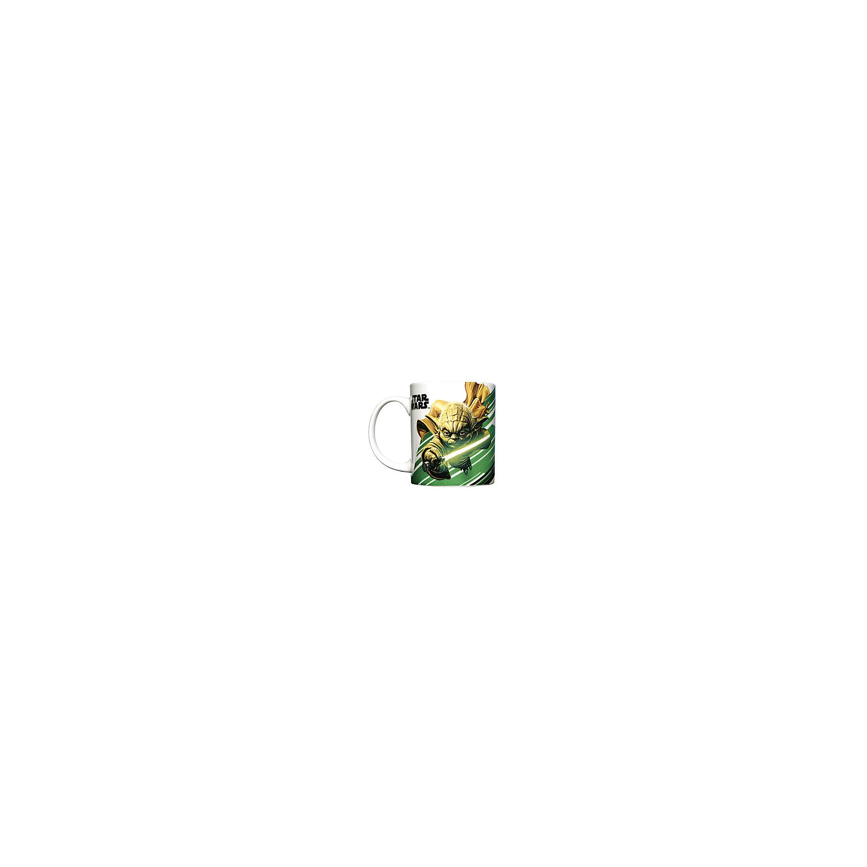 Керамическая кружка Йода 350 мл, Звёздные ВойныЗвездные войны<br>Керамическая кружка Йода 350 мл, Звёздные Войны - эта оригинальная кружка станет приятным сюрпризом для Вашего ребенка.<br>Кружка Йода Звездные войны станет отличным подарком для любого фаната знаменитой саги. Она выполнена из керамики и оформлена красочным рисунком с изображением гранд-мастера Ордена джедаев Йоды. Большая ручка обеспечит удобство использования. Подходит для использования в посудомоечной машине и СВЧ-печи.<br><br>Дополнительная информация:<br><br>- Материал: керамика<br>- Объем: 350 мл.<br>- Высота: 10 см.<br>- Диаметр: 8 см.<br><br>Керамическую кружку Йода 350 мл, Звёздные Войны можно купить в нашем интернет-магазине.<br><br>Ширина мм: 120<br>Глубина мм: 82<br>Высота мм: 98<br>Вес г: 330<br>Возраст от месяцев: 36<br>Возраст до месяцев: 144<br>Пол: Унисекс<br>Возраст: Детский<br>SKU: 4603887