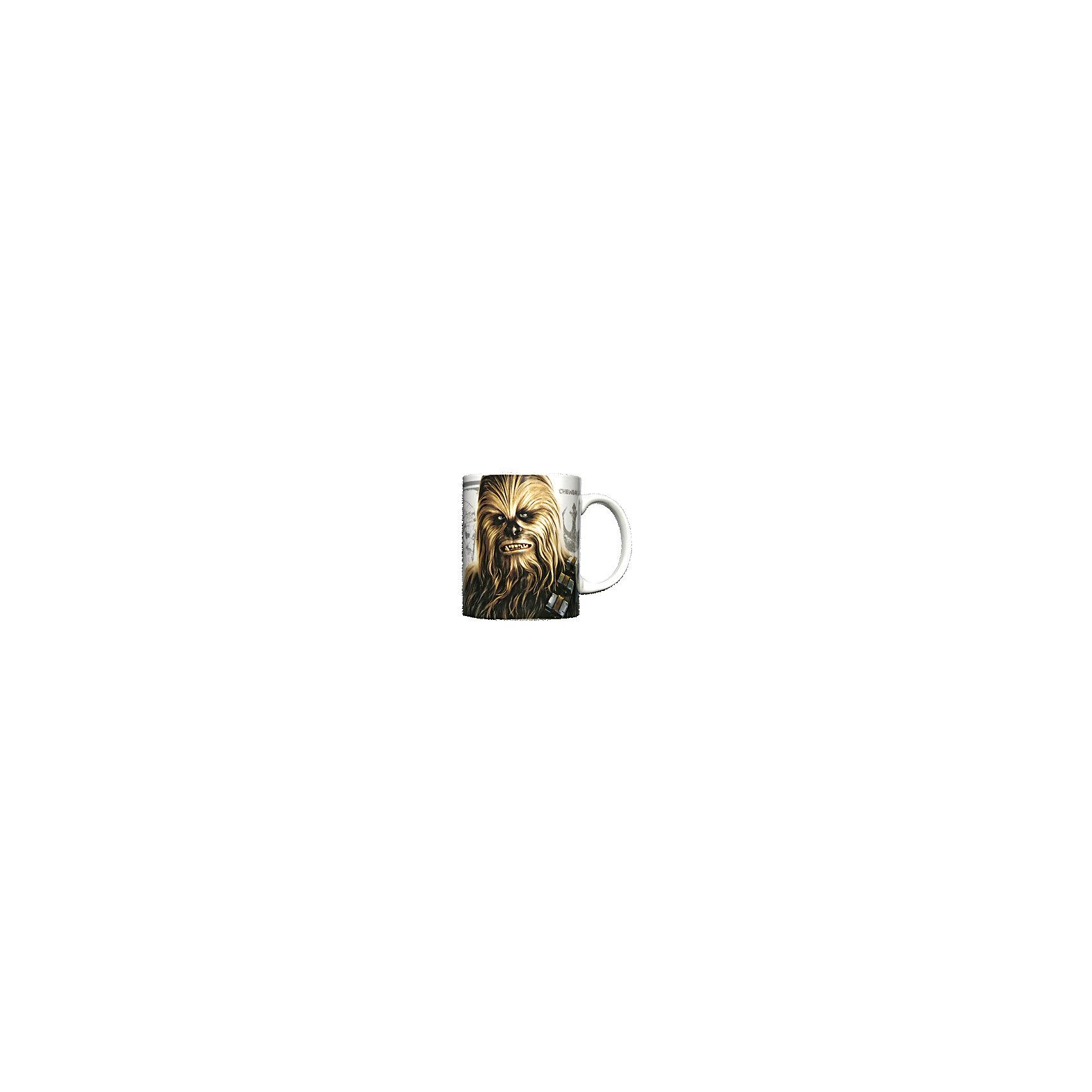 Керамическая кружка Чубакка 350 мл, Звёздные ВойныЗвездные войны<br>Керамическая кружка Чубакка 350 мл, Звёздные Войны - эта оригинальная кружка станет приятным сюрпризом для Вашего ребенка.<br>Кружка Чубакка Звездные войны станет отличным подарком для любого фаната знаменитой саги. Она выполнена из керамики и оформлена рисунком с изображением одного из главных героев Звездных войн Чубакки. Большая ручка обеспечит удобство использования. Подходит для использования в посудомоечной машине и СВЧ-печи.<br><br>Дополнительная информация:<br><br>- Материал: керамика<br>- Объем: 350 мл.<br>- Высота: 10 см.<br>- Диаметр: 8 см.<br><br>Керамическую кружку Чубакка 350 мл, Звёздные Войны можно купить в нашем интернет-магазине.<br><br>Ширина мм: 120<br>Глубина мм: 82<br>Высота мм: 98<br>Вес г: 330<br>Возраст от месяцев: 36<br>Возраст до месяцев: 144<br>Пол: Унисекс<br>Возраст: Детский<br>SKU: 4603889