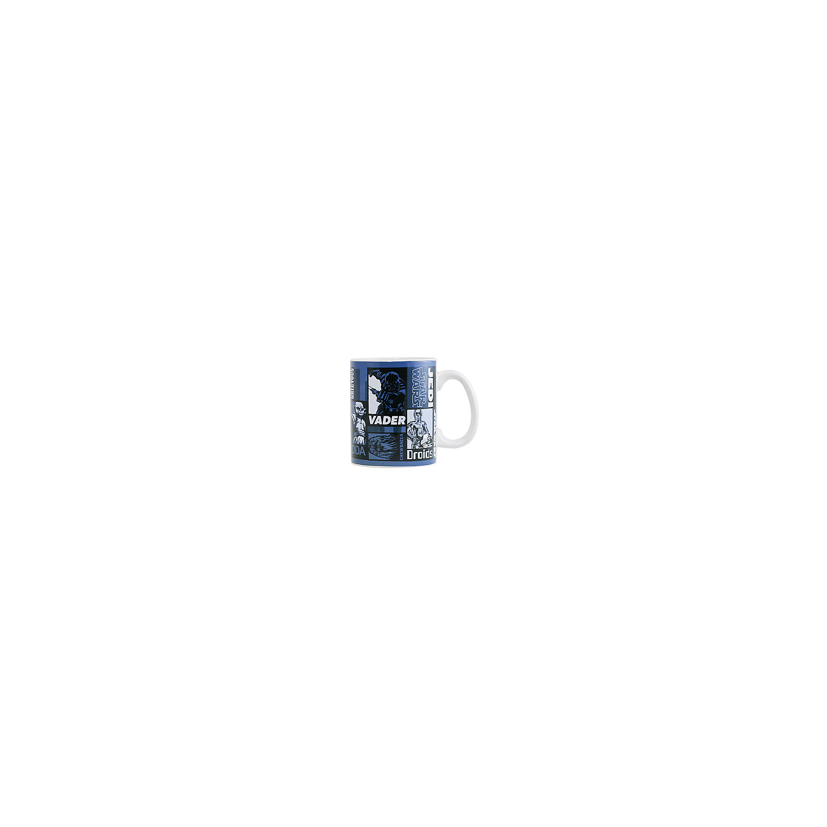 Керамическая кружка Звёздные Войны 500 млКерамическая кружка Звёздные Войны 500 мл – эта оригинальная кружка станет приятным сюрпризом для Вашего ребенка.<br>Кружка «Звездные войны» станет отличным подарком для любого фаната знаменитой саги. Она выполнена из керамики и оформлена рисунком с изображением героев фантастической саги. Большая ручка обеспечит удобство использования. Подходит для использования в посудомоечной машине и СВЧ-печи.<br><br>Дополнительная информация:<br><br>- Материал: керамика<br>- Объем: 500 мл.<br>- Высота: 11 см.<br>- Диаметр: 9 см.<br><br>Керамическую кружку Звёздные Войны 500 мл можно купить в нашем интернет-магазине.<br><br>Ширина мм: 137<br>Глубина мм: 93<br>Высота мм: 112<br>Вес г: 500<br>Возраст от месяцев: 36<br>Возраст до месяцев: 144<br>Пол: Унисекс<br>Возраст: Детский<br>SKU: 4603892