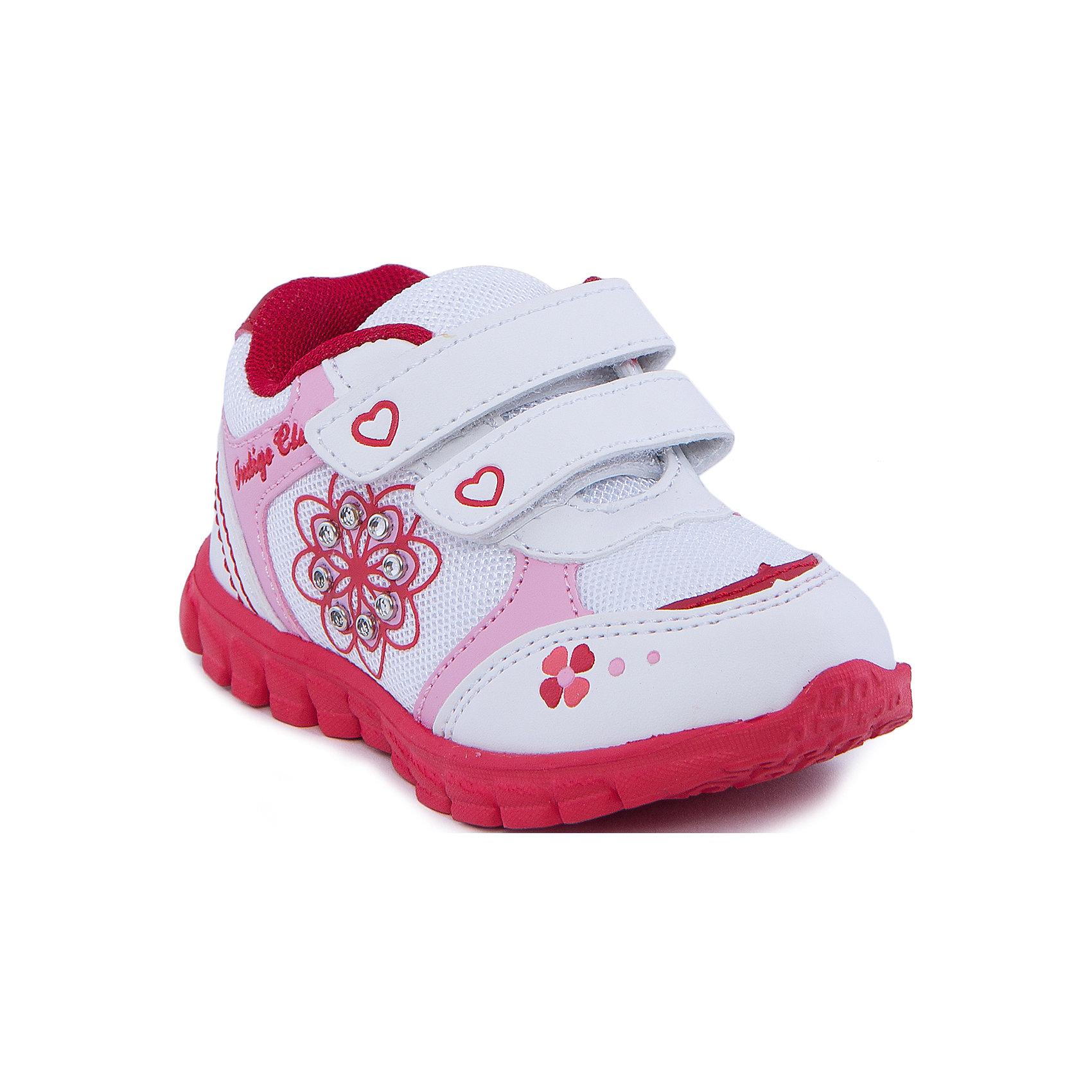 Indigo kids Кроссовки для девочки Indigo kids кроссовки для девочки indigo kids цвет розовый 90 103a 12 размер 31
