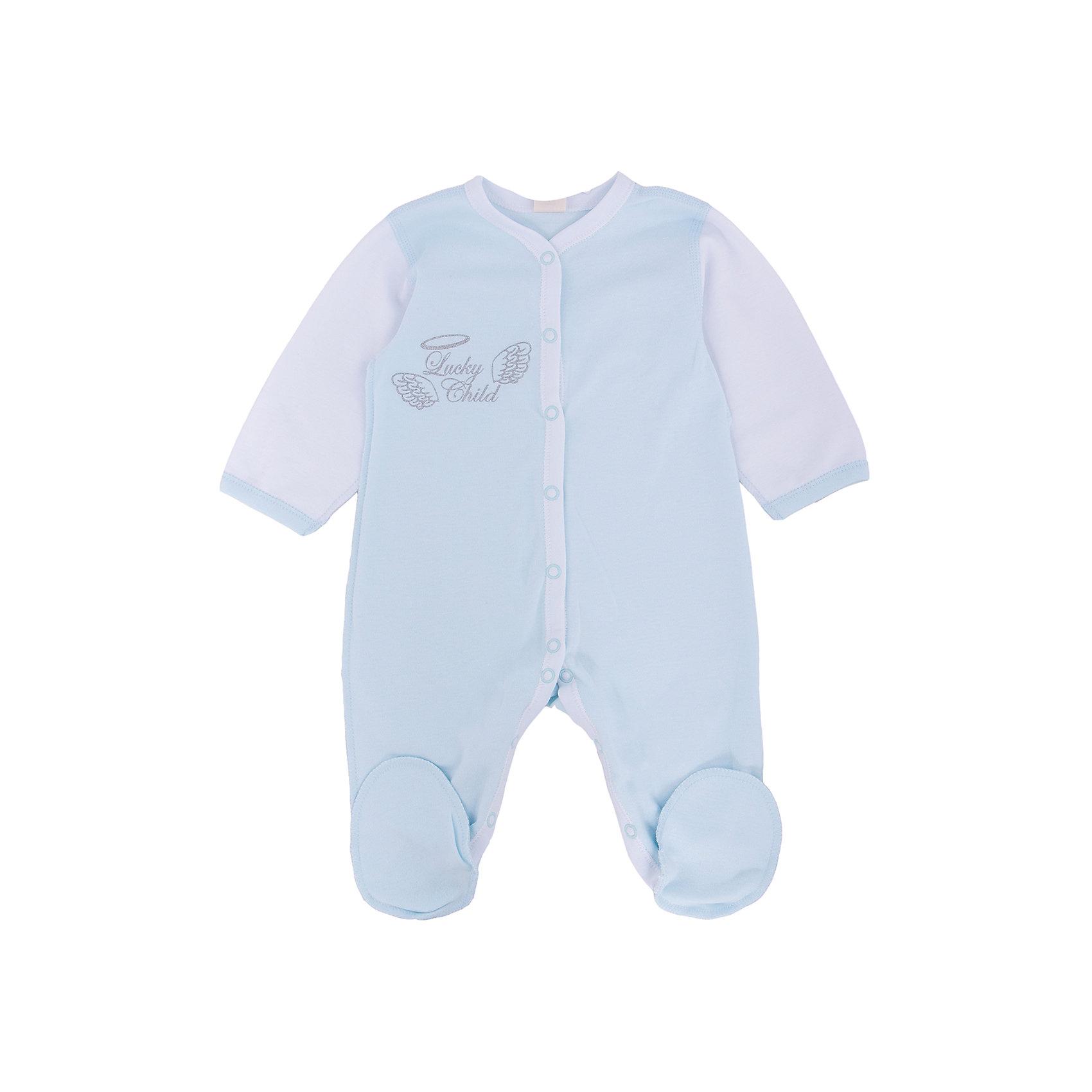 Lucky Child Комбинезон Lucky Child пижамы lucky child пижама