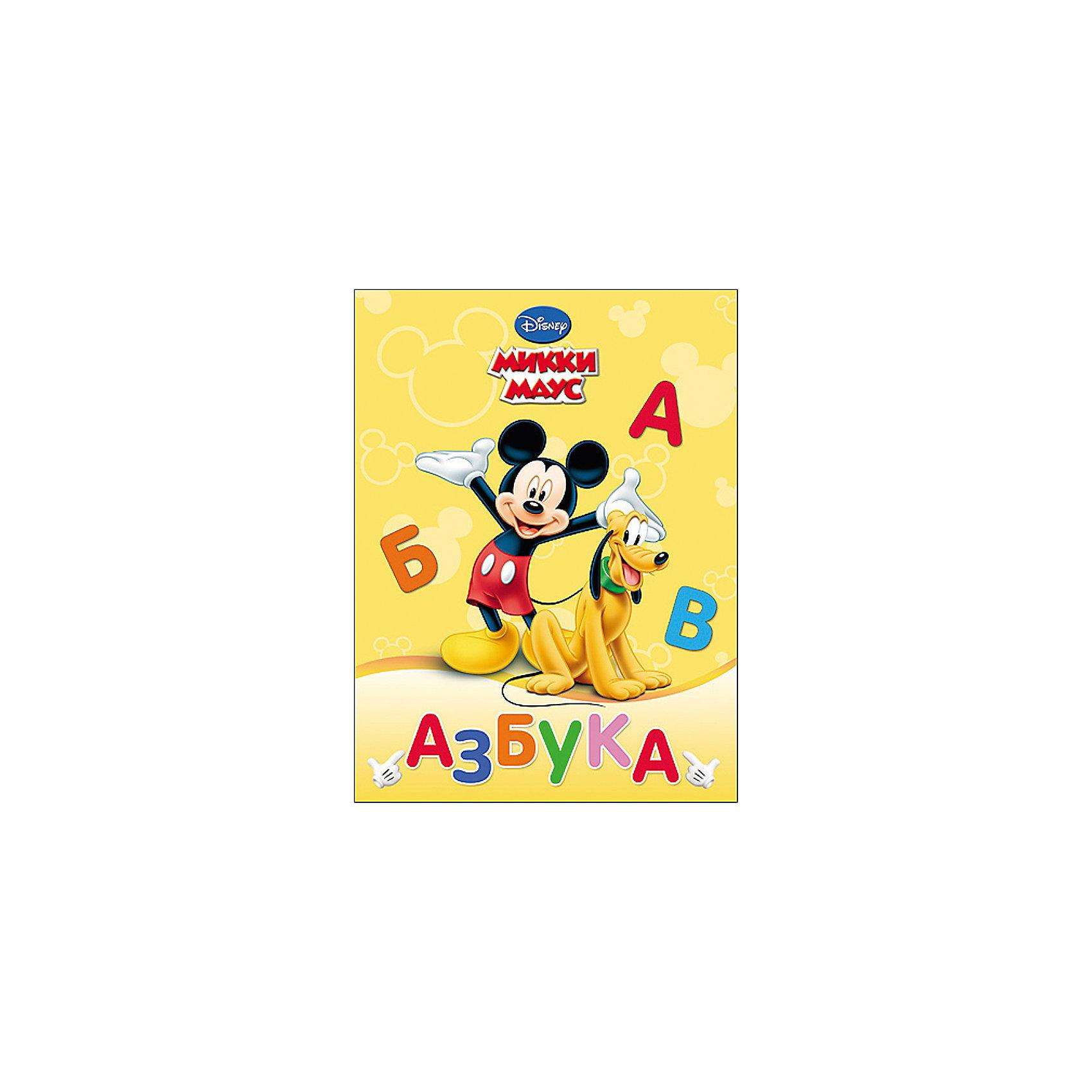 Азбука Микки МаусПришло время освоить алфавит? Азбука Disney (Дисней) станет незаменимым помощником вашему маленькому ученику. А учить буквы с любимыми героями гораздо веселее и интереснее!<br><br>Дополнительная информация:<br><br>Переплет: Картон<br>Страниц: 8<br>Формат: 160х220 мм<br><br>Азбуку Микки Маус можно купить в нашем магазине.<br><br>Ширина мм: 160<br>Глубина мм: 5<br>Высота мм: 220<br>Вес г: 140<br>Возраст от месяцев: 36<br>Возраст до месяцев: 72<br>Пол: Унисекс<br>Возраст: Детский<br>SKU: 4612591