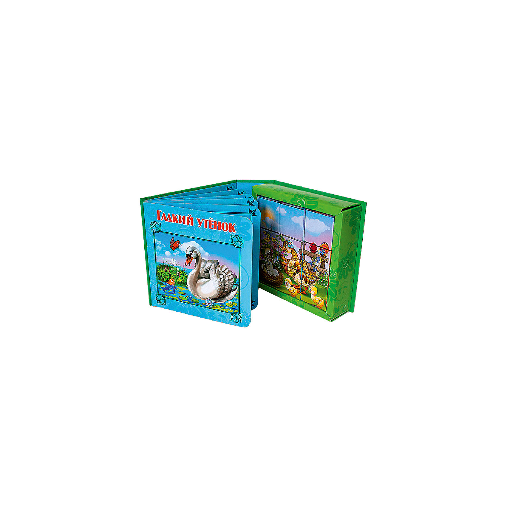 Книжка-игрушка Гадкий утёнокИзумительные книжки с элементами игры для самых маленьких читателей теперь в ассортименте! Внутри удобного блока – небольшая нарядно оформленная книжечка, а к ней – набор красочных кубиков, иллюстрирующих каждую страничку. <br><br>Дополнительная информация:<br><br>По мотивам сказки Г.Х. Андерсена<br>Переплет: картон<br>Страниц: 10<br>Формат: 145х145 мм<br><br>Книжку-игрушку Гадкий утёнок можно купить в нашем магазине.<br><br>Ширина мм: 145<br>Глубина мм: 50<br>Высота мм: 145<br>Вес г: 310<br>Возраст от месяцев: 48<br>Возраст до месяцев: 72<br>Пол: Унисекс<br>Возраст: Детский<br>SKU: 4612638