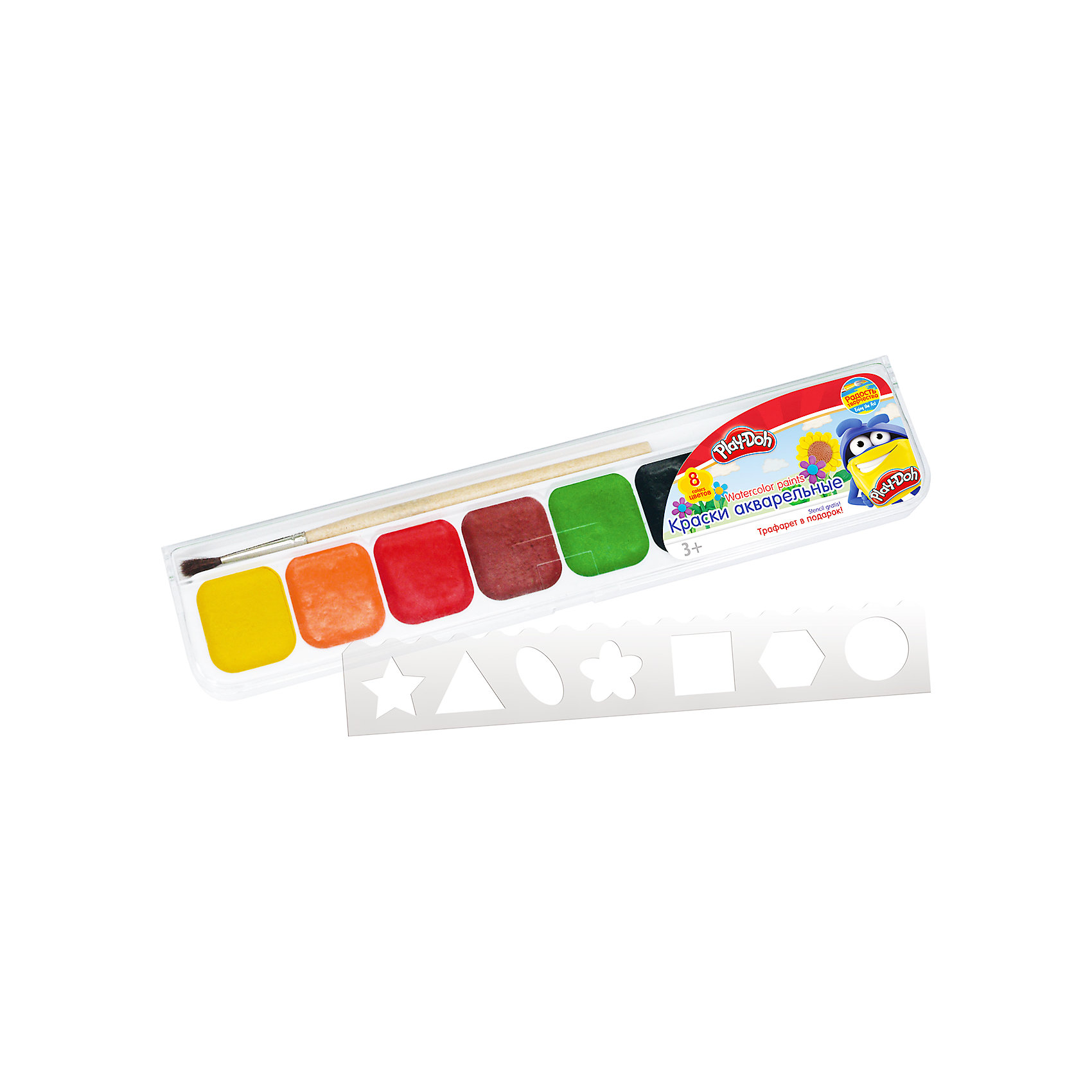 Акварельные медовые краски 8 цветов, Play-Doh