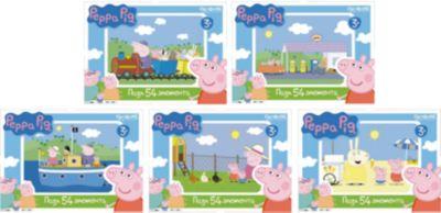 Мини-пазл Свинка Пеппа , 54 детали, Origami