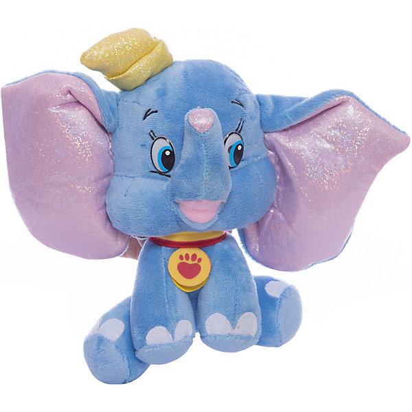 Мягкая игрушка Дамбо, 16 см, со звуком, МУЛЬТИ-ПУЛЬТИМузыкальные мягкие игрушки<br>Очаровательный слоненок Дамбо, герой известного мультфильма Disney, обязательно понравится детям. Он очень мягкий и приятный на ощупь, к тому же знает много фраз, с ним не соскучишься! <br>Игрушка выполнена из высококачественных экологичных материалов безопасных для детей. <br><br>Дополнительная информация:<br><br>- Материал: пластик, текстиль, синтепон. <br>- Размер куклы: 16 см.<br>- Звуковые эффекты: фразы. <br>- Элемент питания: батарейки (в комплекте).<br><br>Мягкую игрушку Дамбо, 16 см, со звуком, МУЛЬТИ-ПУЛЬТИ, можно купить в нашем магазине.<br>Ширина мм: 240; Глубина мм: 260; Высота мм: 100; Вес г: 130; Возраст от месяцев: 36; Возраст до месяцев: 96; Пол: Унисекс; Возраст: Детский; SKU: 4614959;