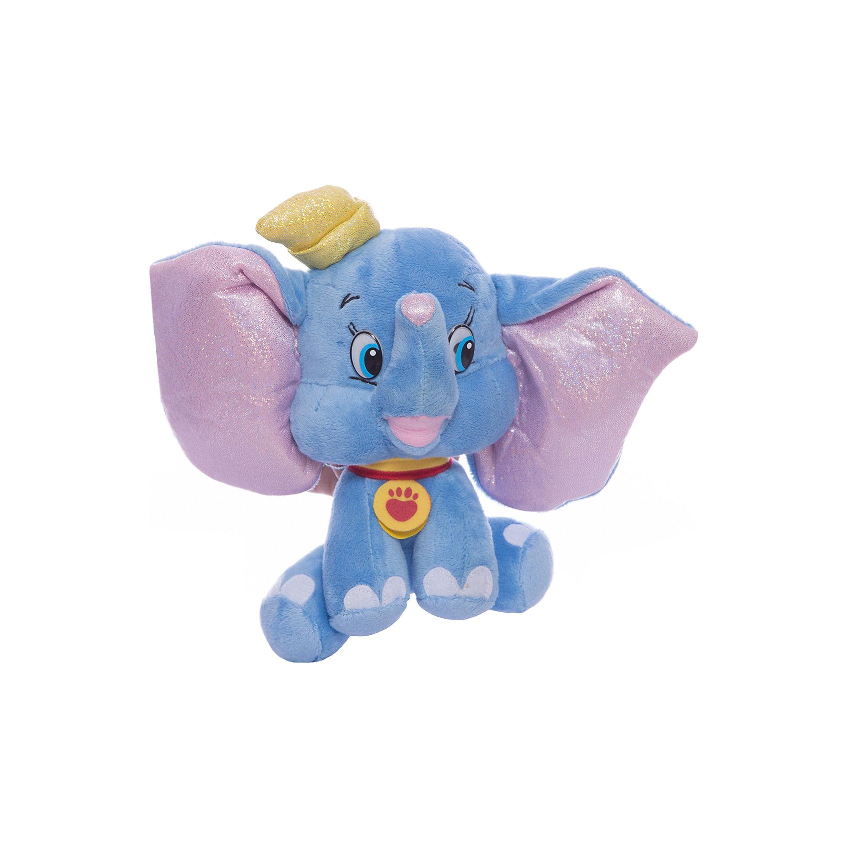Мягкая игрушка Дамбо, 16 см, со звуком, МУЛЬТИ-ПУЛЬТИЛюбимые герои<br>Очаровательный слоненок Дамбо, герой известного мультфильма Disney, обязательно понравится детям. Он очень мягкий и приятный на ощупь, к тому же знает много фраз, с ним не соскучишься! <br>Игрушка выполнена из высококачественных экологичных материалов безопасных для детей. <br><br>Дополнительная информация:<br><br>- Материал: пластик, текстиль, синтепон. <br>- Размер куклы: 16 см.<br>- Звуковые эффекты: фразы. <br>- Элемент питания: батарейки (в комплекте).<br><br>Мягкую игрушку Дамбо, 16 см, со звуком, МУЛЬТИ-ПУЛЬТИ, можно купить в нашем магазине.<br><br>Ширина мм: 240<br>Глубина мм: 260<br>Высота мм: 100<br>Вес г: 130<br>Возраст от месяцев: 36<br>Возраст до месяцев: 96<br>Пол: Унисекс<br>Возраст: Детский<br>SKU: 4614959