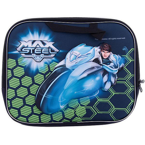 3D Папка-сумка А4 Max SteelМакс Стил<br>Эффектная папка-сумка Max Steel станет лучшим спутником Вашего ребенка на различных занятиях. В ней удобно носить канцелярские принадлежности, альбом, краски, тетради. Выдавленные на лицевой стороне 3D элементы приведут в восторг юного любителя гонок! Универсальный формат А4, удобные ручки, застежка-молния и привлекательный дизайн - идеальный вариант для маленьких непосед. <br><br>Дополнительная информация:<br>- материал: текстиль<br>- размер: 36х3х29 см (формат А4)<br>- застежка-молния<br>- мягкие ручки.<br><br>Папку-сумку Max Steel можно купить в нашем интернет-магазине.<br><br>Ширина мм: 30<br>Глубина мм: 360<br>Высота мм: 290<br>Вес г: 180<br>Возраст от месяцев: 36<br>Возраст до месяцев: 108<br>Пол: Мужской<br>Возраст: Детский<br>SKU: 4616091