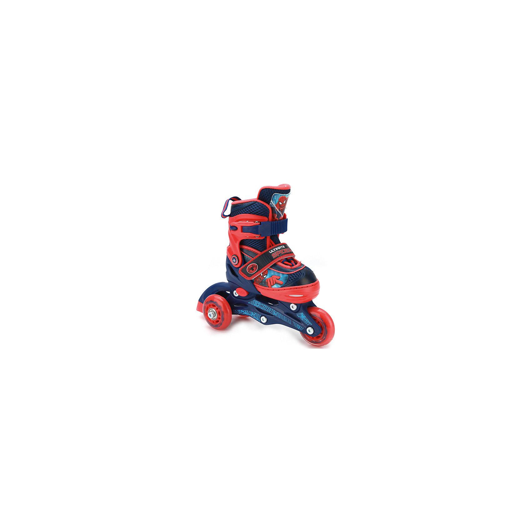 Роликовые коньки, раздвижные, Человек -паук