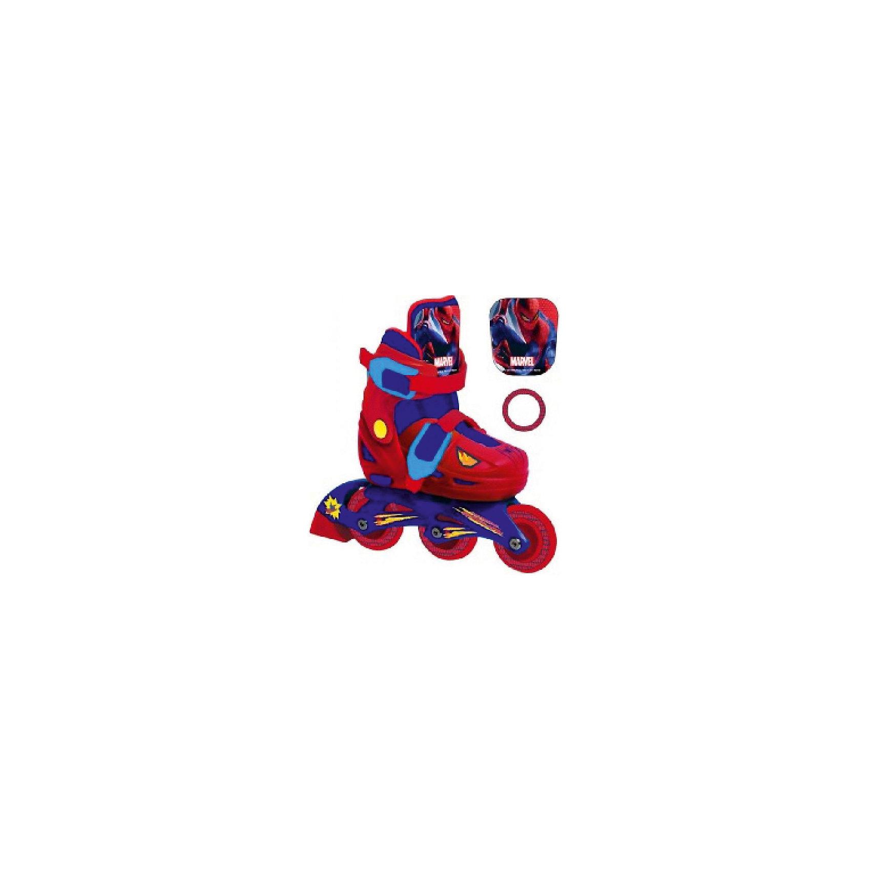 - Роликовые коньки, раздвижные, Человек -паук onlitop ролики раздвижные 29 32 размер