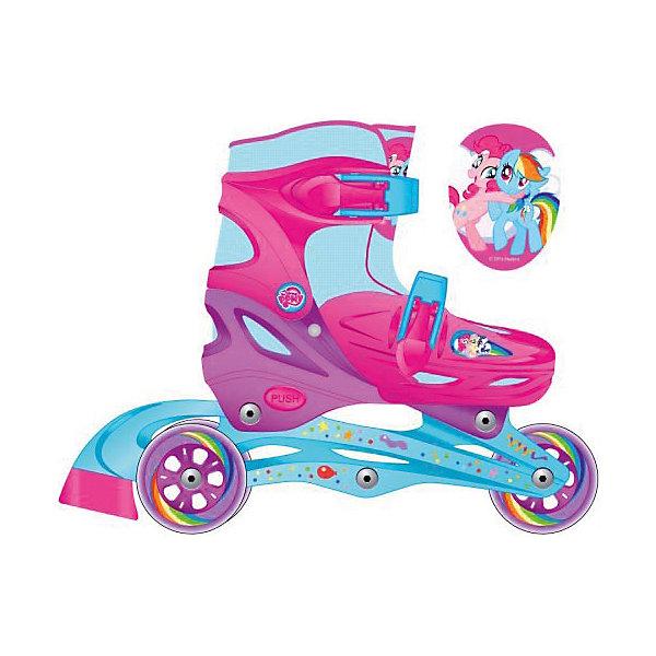 Роликовые коньки, раздвижные, My little Pony