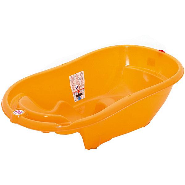 Ванна Onda Evolution, OK Baby, оранжевыйТовары для купания<br>Ванна Onda Evolution, OK Baby сделает процесс купания Вашего малыша удобным и безопасным, доставит ему много радости и удовольствия. Ванночка эргономичной формы оснащена специальным сиденьем с тремя ограничителями (подмышечные и паховая), которые надежно закрепляют малыша и позволяют мыть его без посторонней помощи.<br>Мягкое резиновое сиденье можно установить в двух положениях: лежа (для детей от 0 до 6 мес.) и сидя (от 6 до 12 мес.). Ванночка также оборудована встроенным электронным термометром, подставками для гигиенических принадлежностей и сливом в форме ключа. При использовании специального крепления (перекладин) возможна установка на обычную ванну для взрослых. Ванночка изготовлена из безопасных для детей высококачественных материалов. <br><br>Дополнительная информация:<br><br>- Цвет: оранжевый.<br>- Материал: высококачественный пластик. <br>- Возраст: с 0 мес. - 1 год.<br>- Размеры: 54 х 28 х 94 см.<br>- Вес: 2,2 кг.<br><br>Ванну Onda Evolution, OK Baby, оранжевый, можно купить в нашем интернет-магазине.<br><br>Ширина мм: 540<br>Глубина мм: 280<br>Высота мм: 940<br>Вес г: 2500<br>Цвет: оранжевый<br>Возраст от месяцев: 0<br>Возраст до месяцев: 12<br>Пол: Унисекс<br>Возраст: Детский<br>SKU: 4616548
