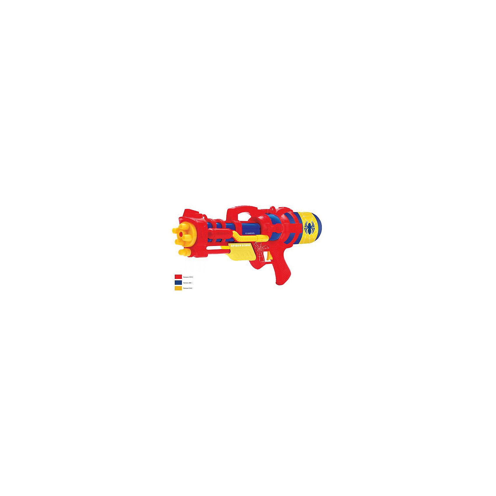 Водный пистолет , 48 см, Человек-ПаукИгрушечное оружие<br>Водный пистолет - идеальный вариант для подвижных игр жарким летом! Мальчишки обожают бегать и устраивать водные перестрелки. Игрушка оформлена изображением паука, имеет оригинальный запоминающийся корпус. Пистолет выполнен из прочного экологичного пластика безопасного для детей. <br><br>Дополнительная информация:<br><br>- Материал: пластик.<br>- Размер: 48 см.<br>- Цвет: красный, синий, желтый. <br><br>Водный пистолет , 48 см, Человек-Паук (Spider-Man) можно купить в нашем магазине.<br><br>Ширина мм: 770<br>Глубина мм: 290<br>Высота мм: 1010<br>Вес г: 630<br>Возраст от месяцев: 36<br>Возраст до месяцев: 120<br>Пол: Мужской<br>Возраст: Детский<br>SKU: 4616822