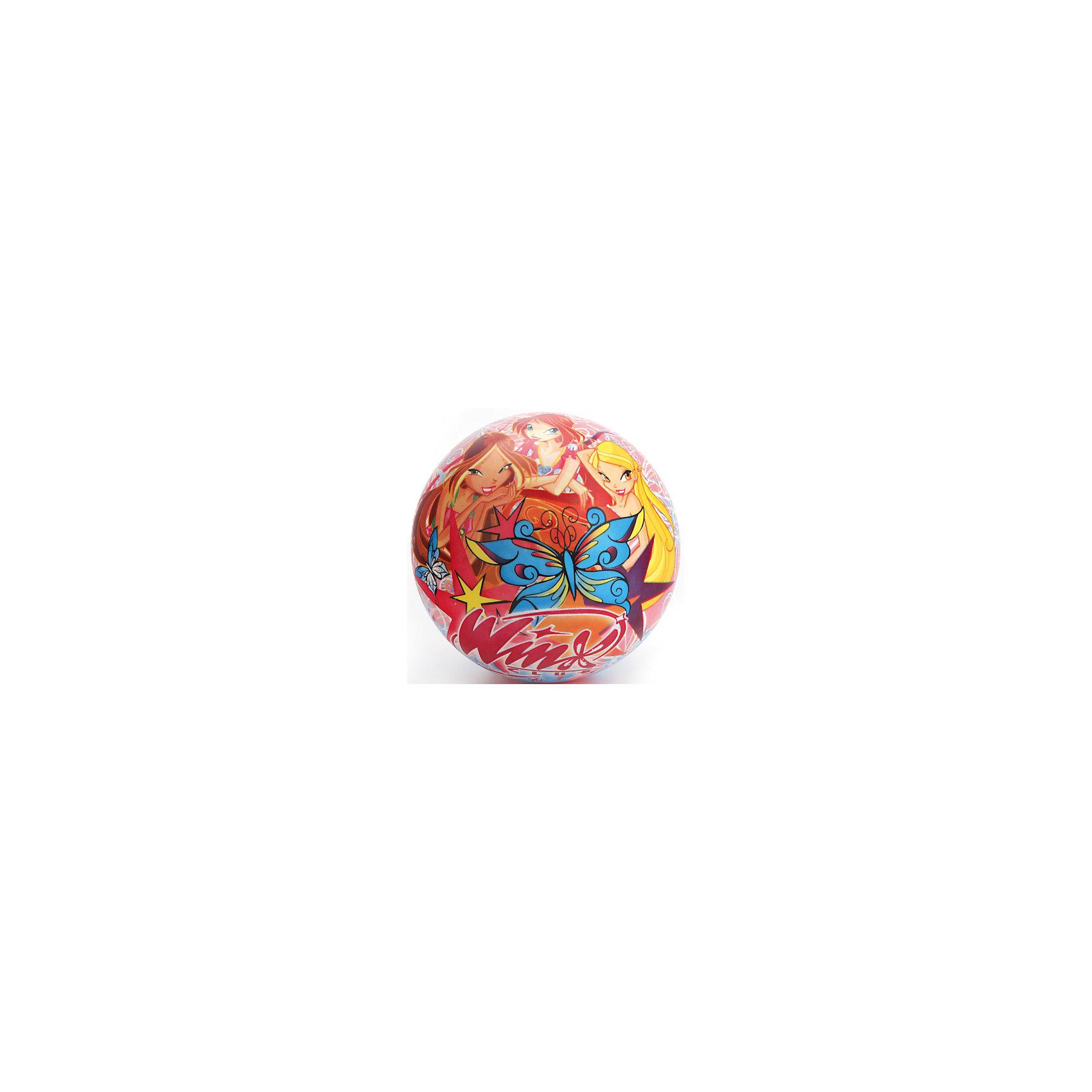 Мяч, 23 см, Winx Club, Играем вместеПопулярные игрушки<br>Мяч с изображением любимых героев - прекрасный подарок для любого ребенка! Игры с мячом  стимулируют детей к физической активности, развивают моторику, координацию, тренируют различные группы мышц. Игрушка выполнена из высококачественных материалов, в производстве которых использованы только нетоксичные, безопасные для детей красители. <br><br>Дополнительная информация:<br><br>- Материал: ПВХ.<br>- Размер d - 23 см.<br>- Оформлен изображениями Стеллы, Флоры и Блум.<br><br>Мяч, 23 см, Winx Club (Винкс Клуб), Играем вместе, можно купить в нашем магазине.<br><br>Ширина мм: 460<br>Глубина мм: 360<br>Высота мм: 280<br>Вес г: 110<br>Возраст от месяцев: 36<br>Возраст до месяцев: 144<br>Пол: Женский<br>Возраст: Детский<br>SKU: 4616826