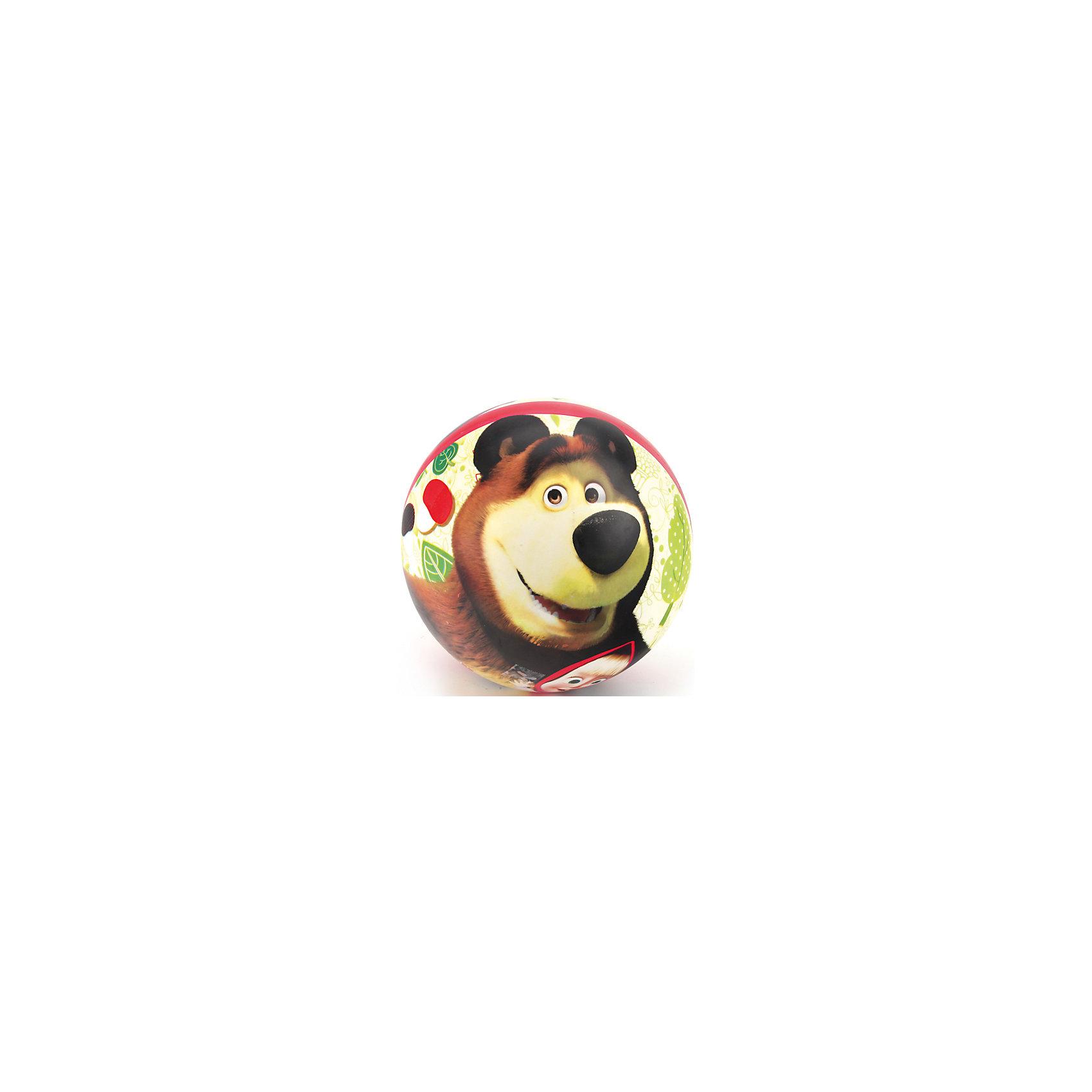 Играем вместе Мяч, 23 см, Маша и Медведь, Играем вместе игрушки для ванной играем вместе игрушка пвх играем вместе бычок