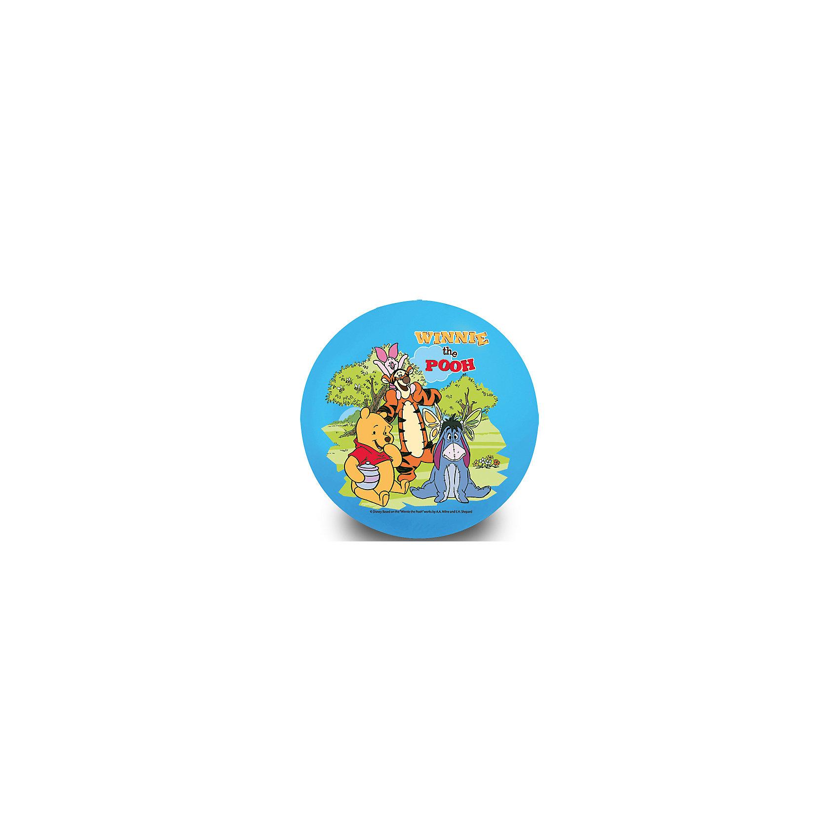 Мяч, 33 см, Винни-Пух, Играем вместеМячи детские<br>Мяч с изображением любимых героев - прекрасный подарок для любого ребенка! Игры с мячом  стимулируют детей к физической активности, развивают моторику, координацию, тренируют различные группы мышц. Игрушка выполнена из высококачественных материалов, в производстве которых использованы только нетоксичные, безопасные для детей красители. <br><br>Дополнительная информация:<br><br>- Материал: ПВХ.<br>- Размер d - 33 см.<br><br>Мяч, 33 см, Винни-Пух, Играем вместе, можно купить в нашем магазине.<br><br>Ширина мм: 450<br>Глубина мм: 350<br>Высота мм: 290<br>Вес г: 130<br>Возраст от месяцев: 36<br>Возраст до месяцев: 96<br>Пол: Унисекс<br>Возраст: Детский<br>SKU: 4616840