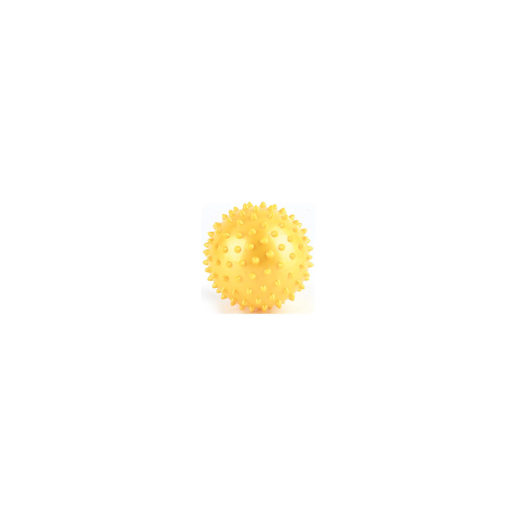 Мяч Массажный, 7,5 см, Играем вместе, в ассортиментеЯркий массажный мячик обязательно понравится ребенку. Игрушка выполнена из высококачественных материалов, в производстве которых использованы только нетоксичные, безопасные для детей красители. Мячик имеет небольшой размер идеально подходящий для детских рук, поверхность игрушки покрыта неострыми фактурными шипами, играя ребенок будет тренировать мелкую моторику, тактильные ощущения, а также внимание и меткость. <br>Дополнительная информация:<br><br>- Материал: ПВХ.<br>- Размер d - 7,5 см.<br>- Цвет в ассортименте.<br>ВНИМАНИЕ! Данный артикул представлен в разных вариантах исполнения. К сожалению, заранее выбрать определенный вариант невозможно. При заказе нескольких мячей возможно получение одинаковых.<br><br>Мяч Массажный, 7,5 см, Играем вместе, в ассортименте, можно купить в нашем магазине.<br><br>Ширина мм: 670<br>Глубина мм: 310<br>Высота мм: 580<br>Вес г: 30<br>Возраст от месяцев: 0<br>Возраст до месяцев: 1188<br>Пол: Унисекс<br>Возраст: Детский<br>SKU: 4616843