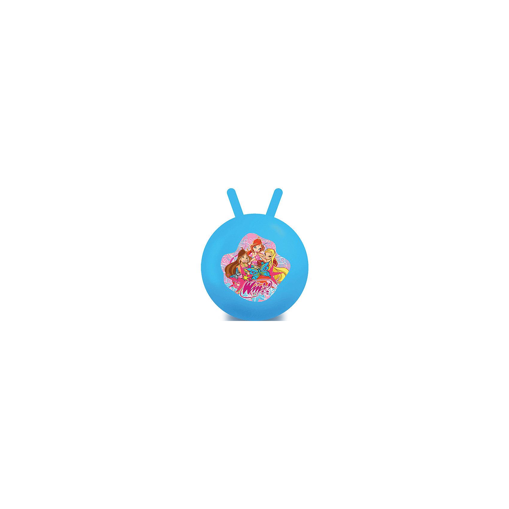 Мяч с рожками, 45 см, Winx Club, Играем вместеМяч-попрыгун с рожками выполнен из высококачественных прочных полимерных материалов. Ребенку понравится прыгать на нем. Веселые игры с мячом не только принесут множество положительных эмоций и улыбок, но и помогут детям улучшить координацию движений, потренируют вестибулярный аппарат, укрепят мышцы ног, рук и спины.<br><br>Дополнительная информация:<br><br>- Материал: ПВХ.<br>- Размер: d - 45 см.<br>- Максимальный вес ребенка: 70 кг.  <br>- Цвет в ассортименте.<br>ВНИМАНИЕ! Данный артикул представлен в разных цветовых вариантах. К сожалению, заранее выбрать определенный вариант невозможно. При заказе нескольких мячей возможно получение одинаковых.<br><br>Мяч с рожками, 45 см, Winx Club (Клуб Винкс), Играем вместе, в ассортименте, можно купить в нашем магазине.<br><br>Ширина мм: 380<br>Глубина мм: 500<br>Высота мм: 510<br>Вес г: 630<br>Возраст от месяцев: 36<br>Возраст до месяцев: 144<br>Пол: Женский<br>Возраст: Детский<br>SKU: 4616848